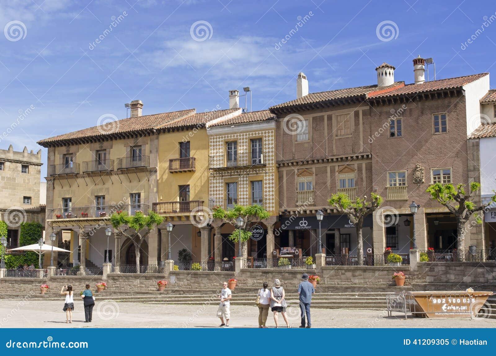Poble Espanol In Barcelona