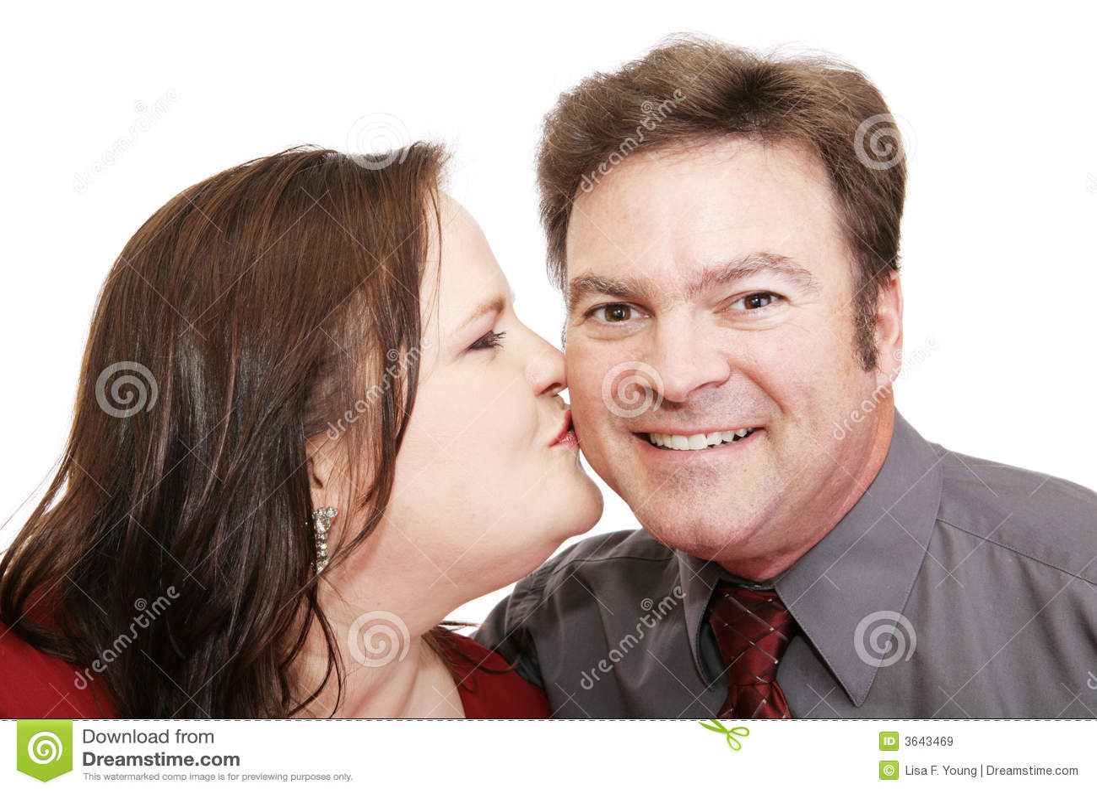 Pocałunek go romantyczne