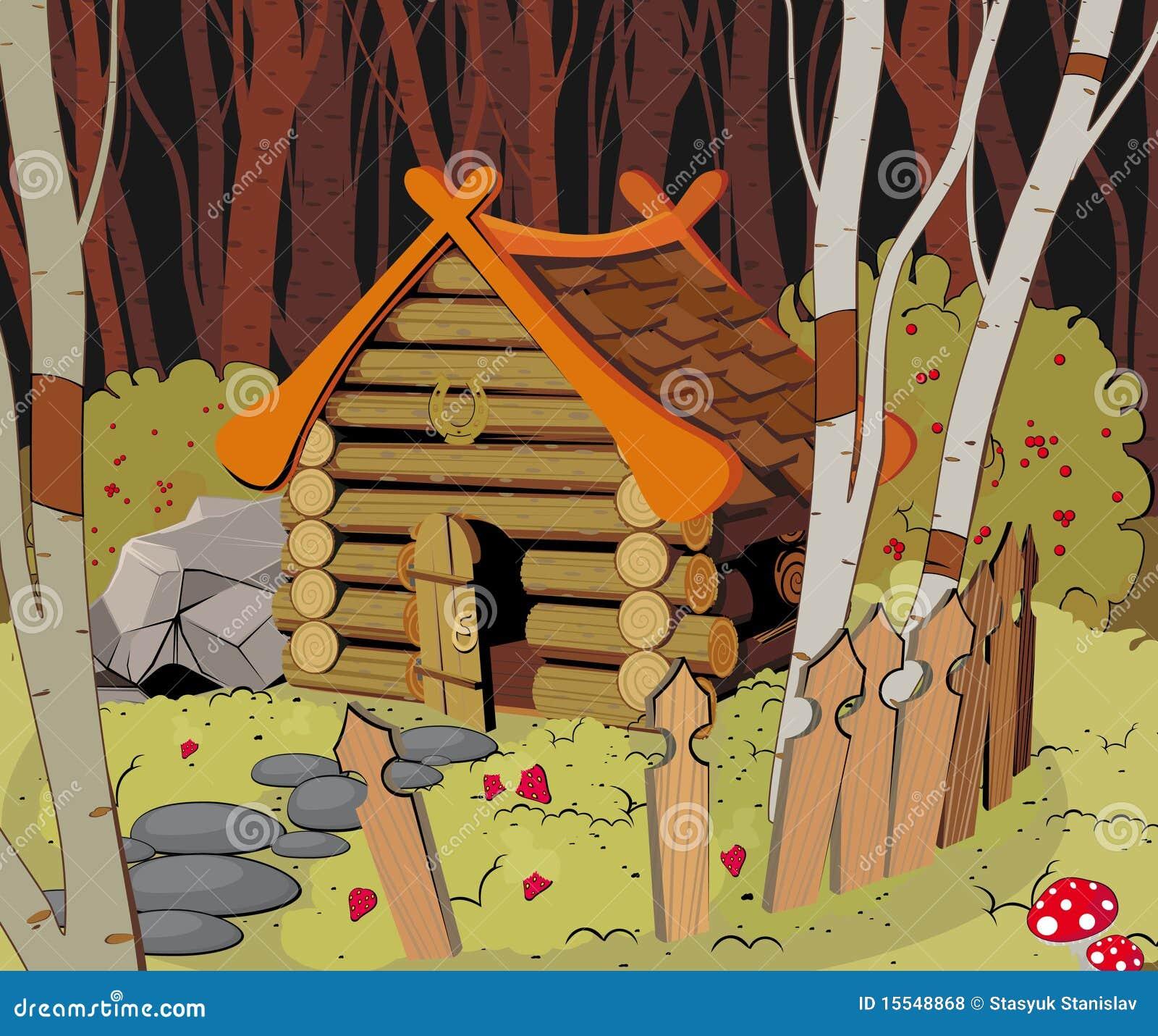 Poca casa en el bosque