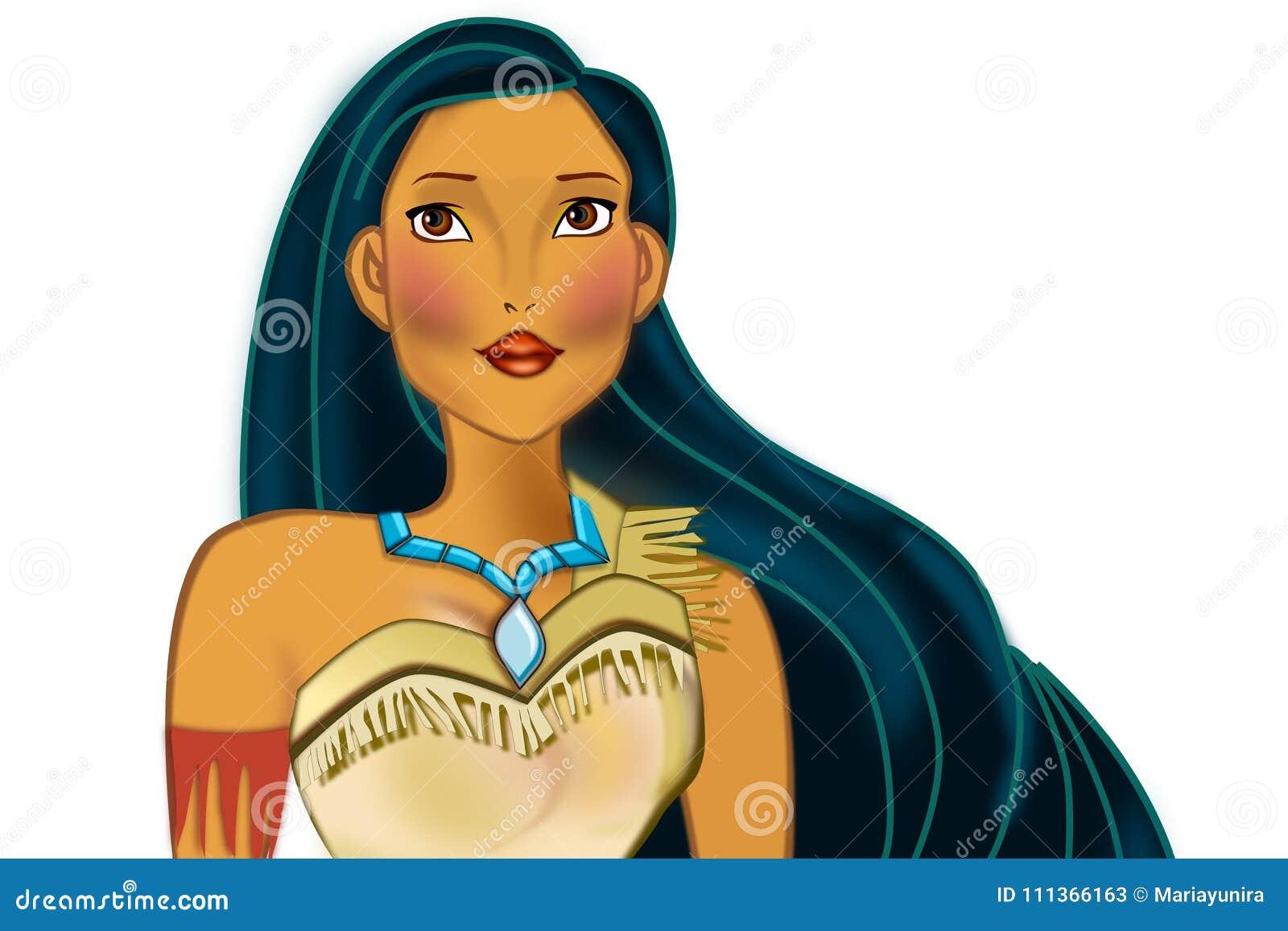 Pocahontas Stock Illustrations