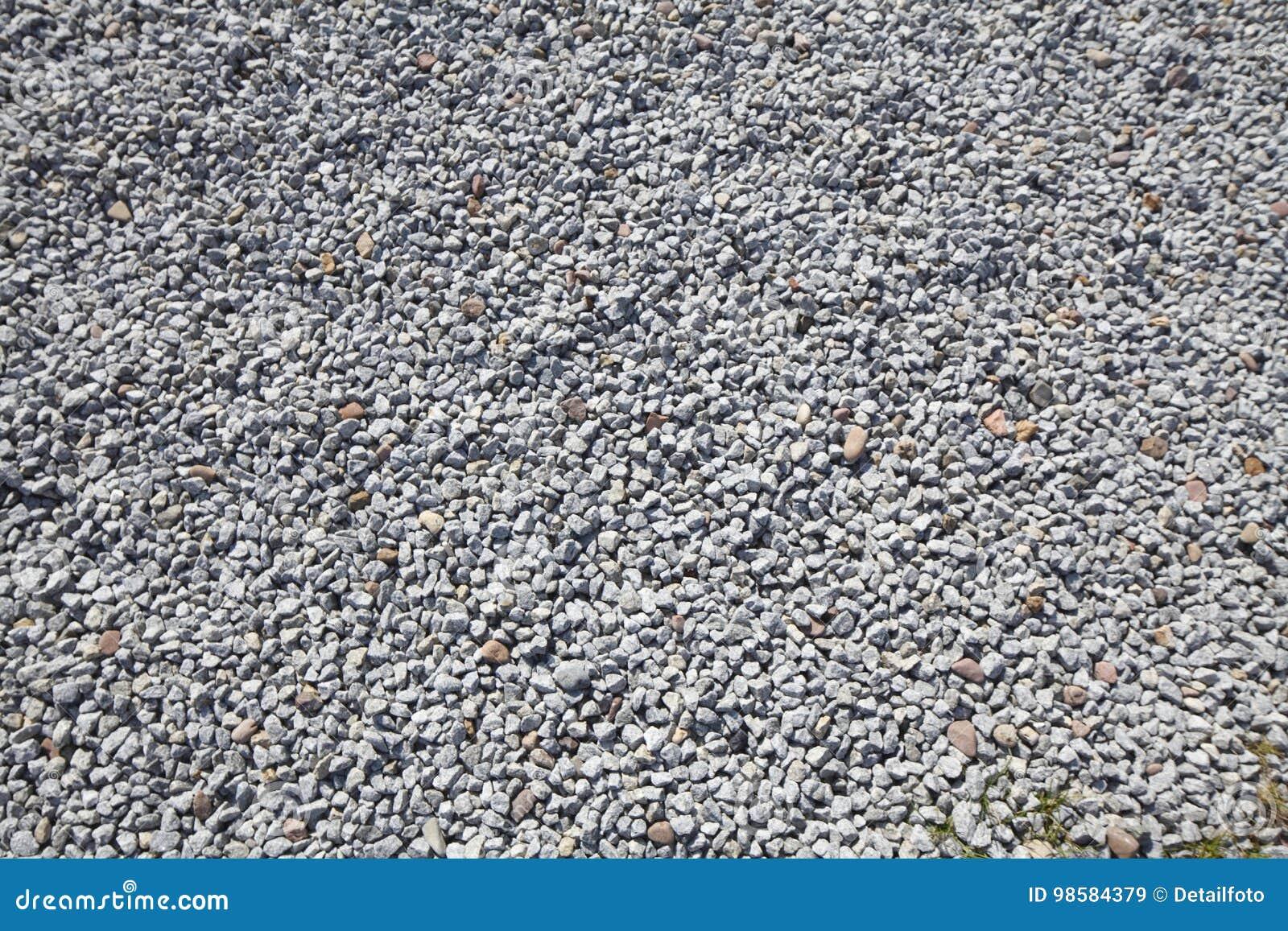 Pocas Piedras De La Arena Como Revestimiento De Suelos Imagen De - Revestimiento-suelo
