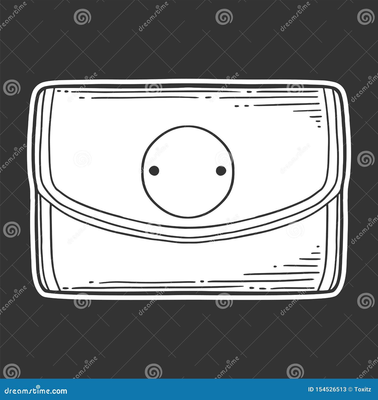 Pochette Concept de vecteur dans le style de griffonnage et de croquis