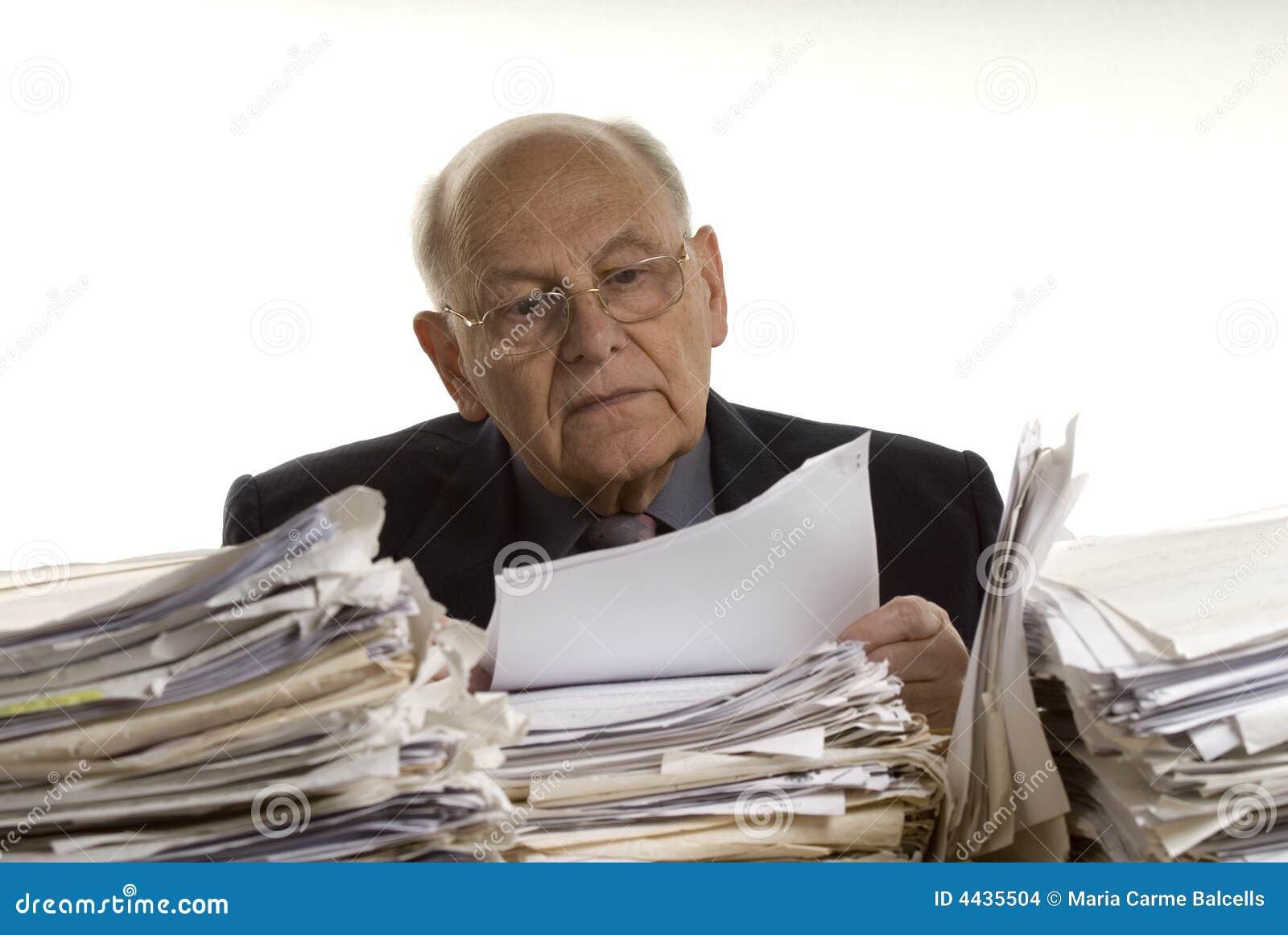 Pochowany papiery