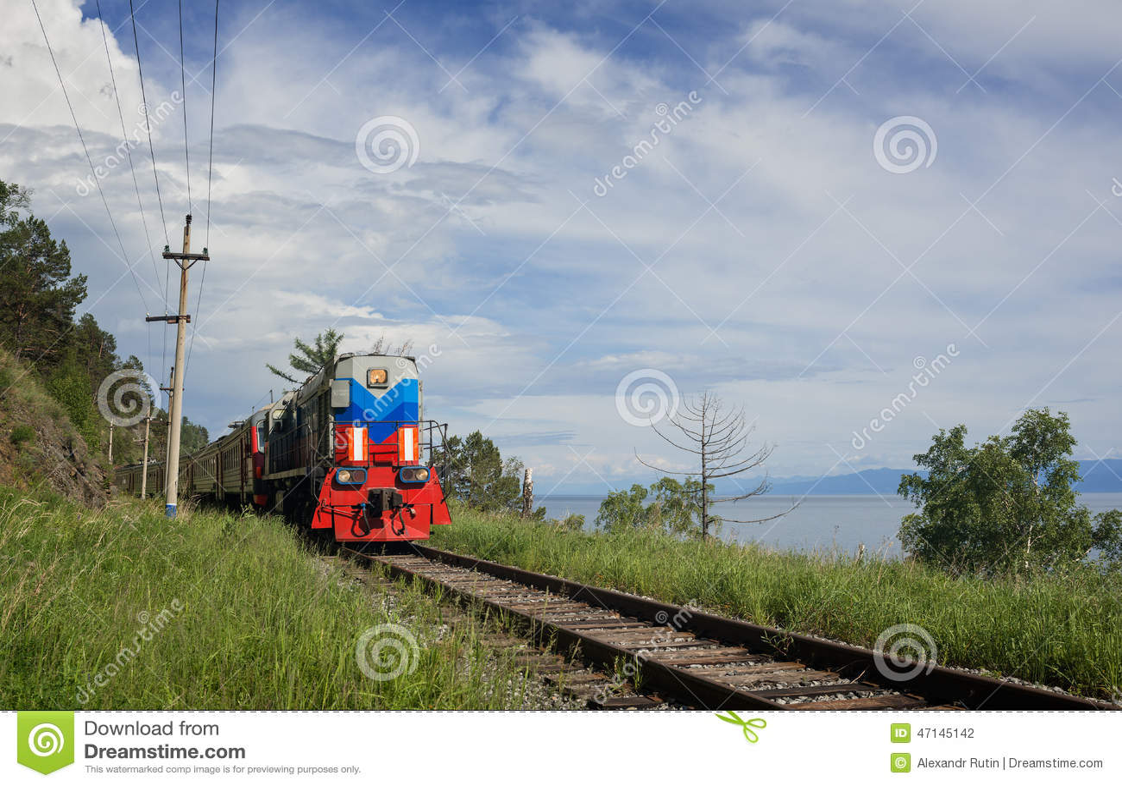 Pociąg na Baikal