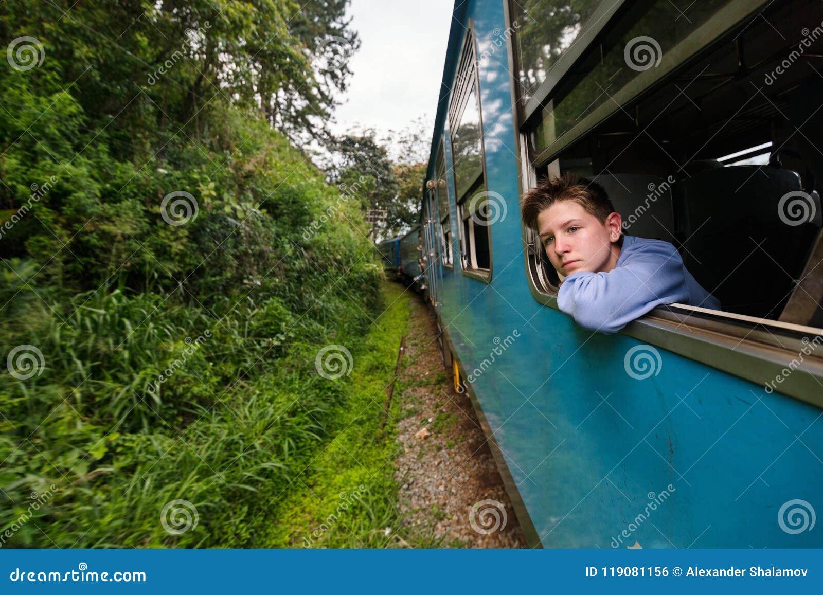 Pociąg w Sri Lanka