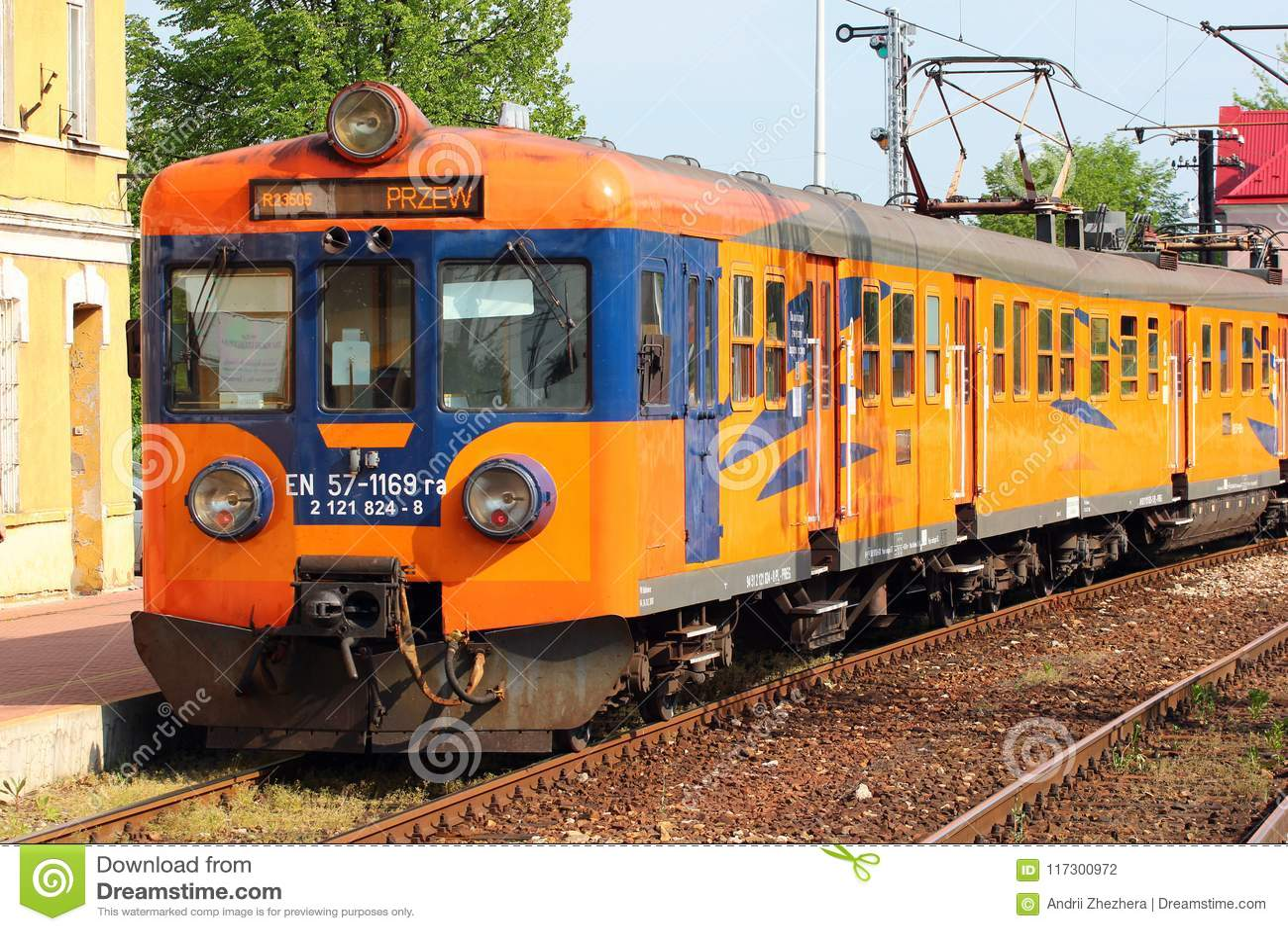 Pociąg w Stalowa Wola, Polska