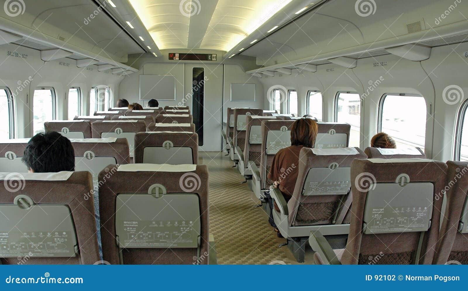 Pociąg, wnętrze