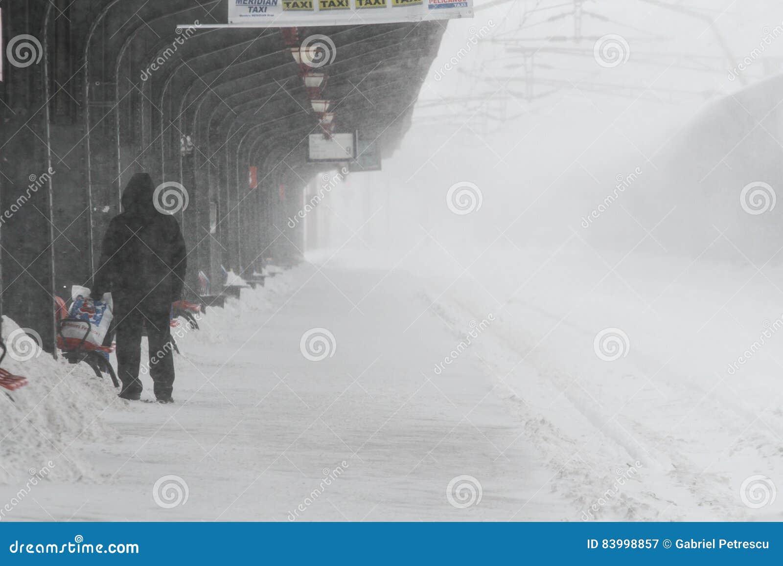 Pociągi opóźniający podczas zimy