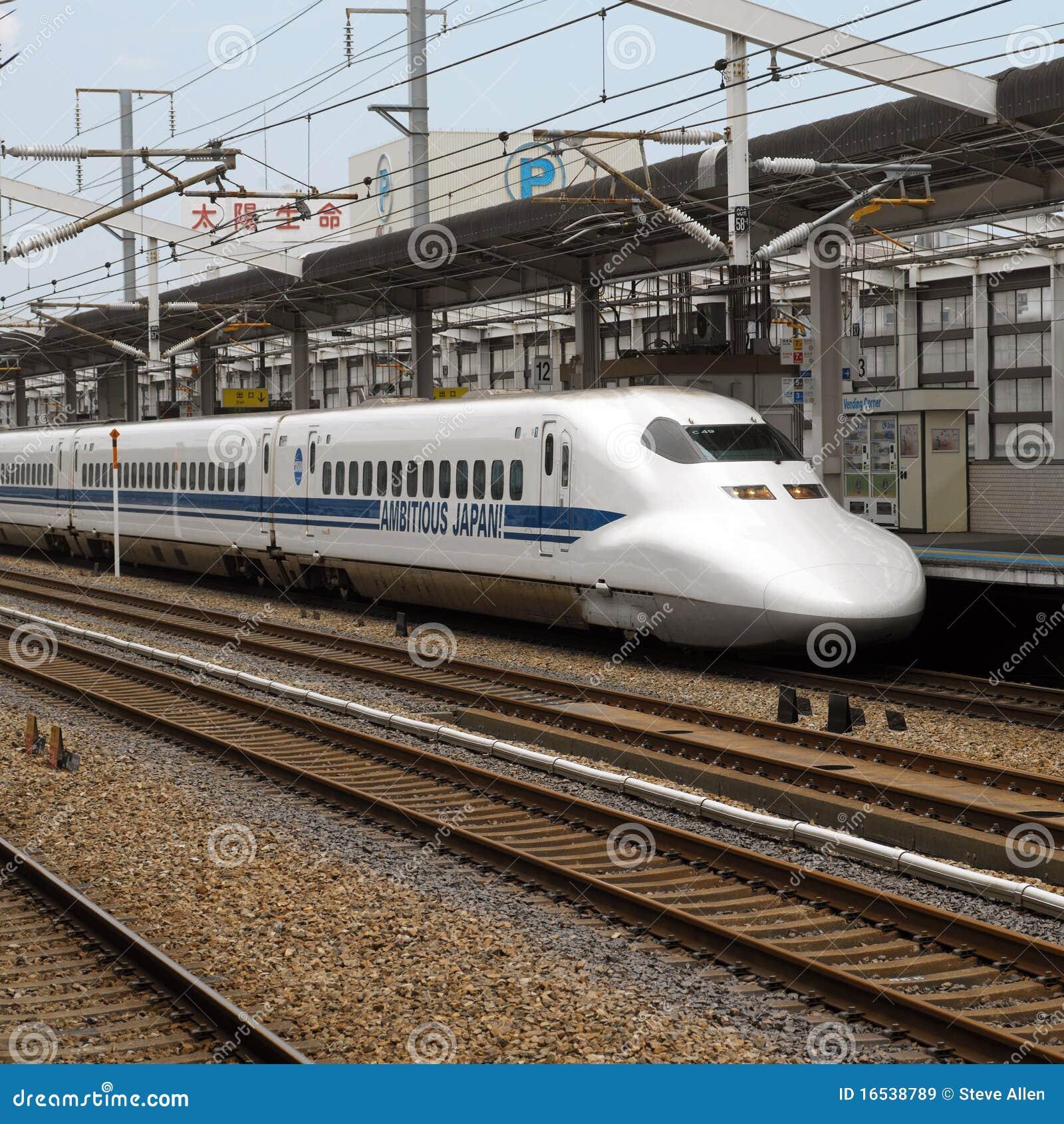 Pociska Japan Tokyo pociąg
