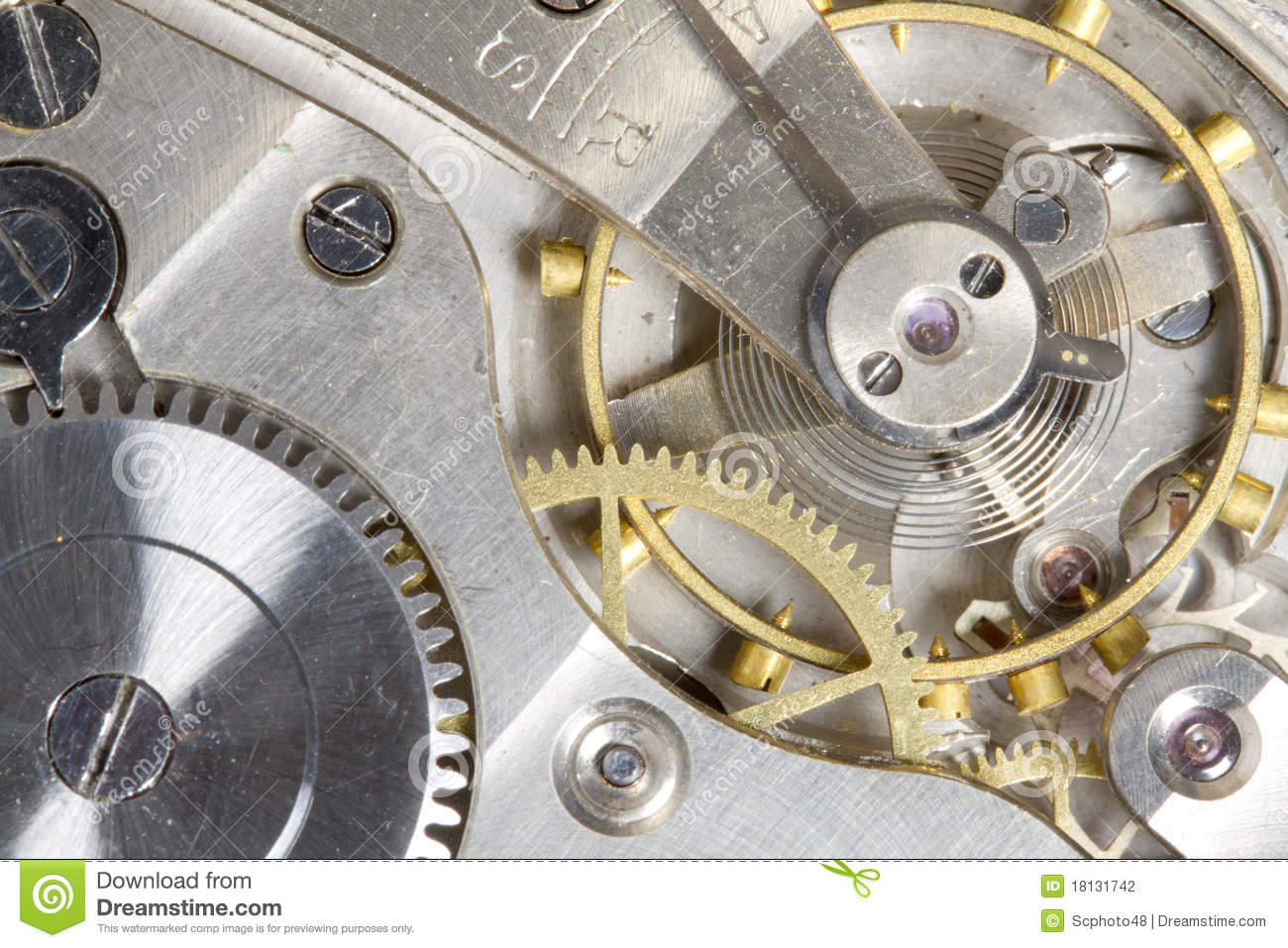 pocket watch gears stock photography image 18131742