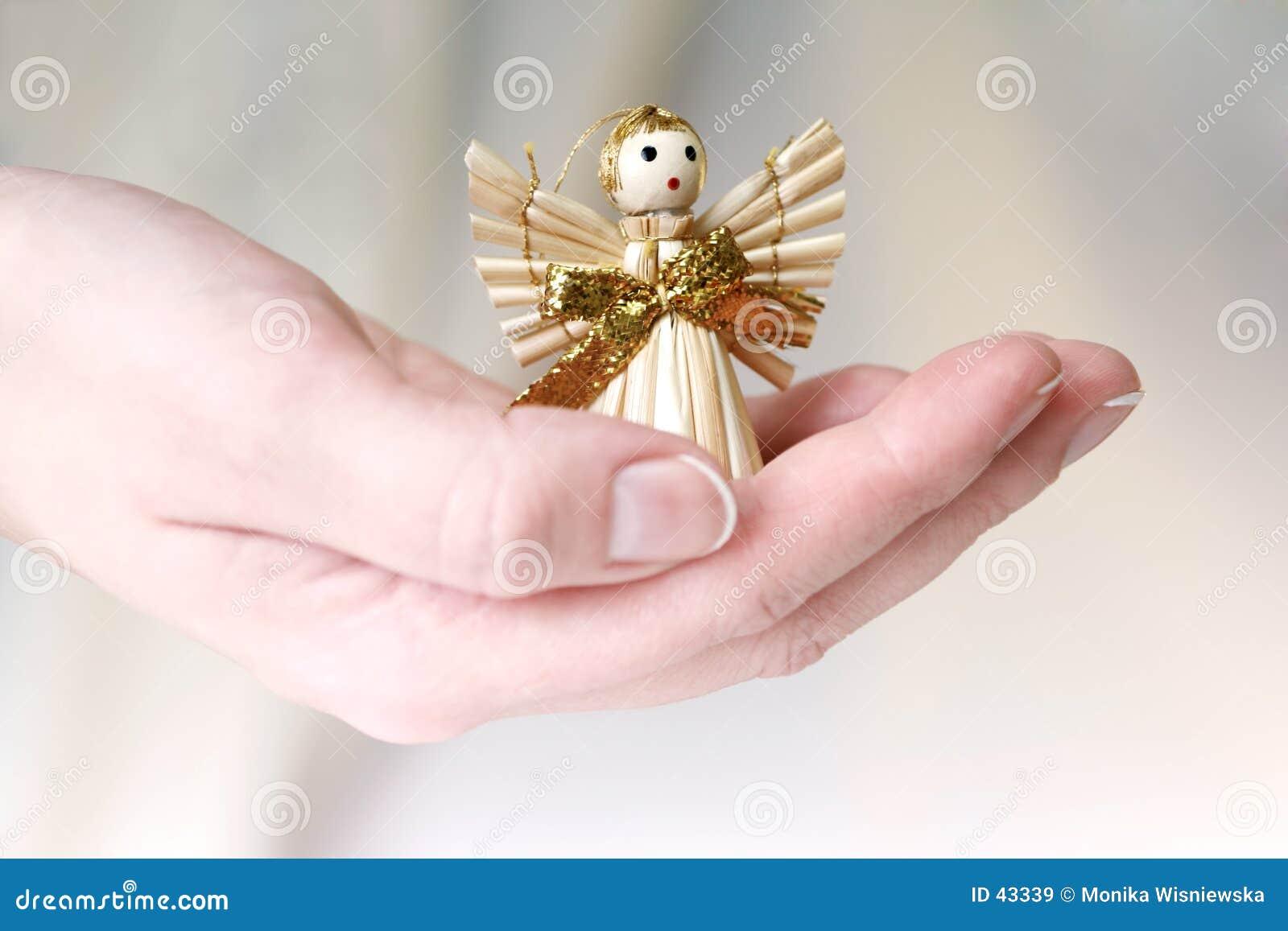 Download Poco ángel imagen de archivo. Imagen de excepto, manos, decoración - 43339