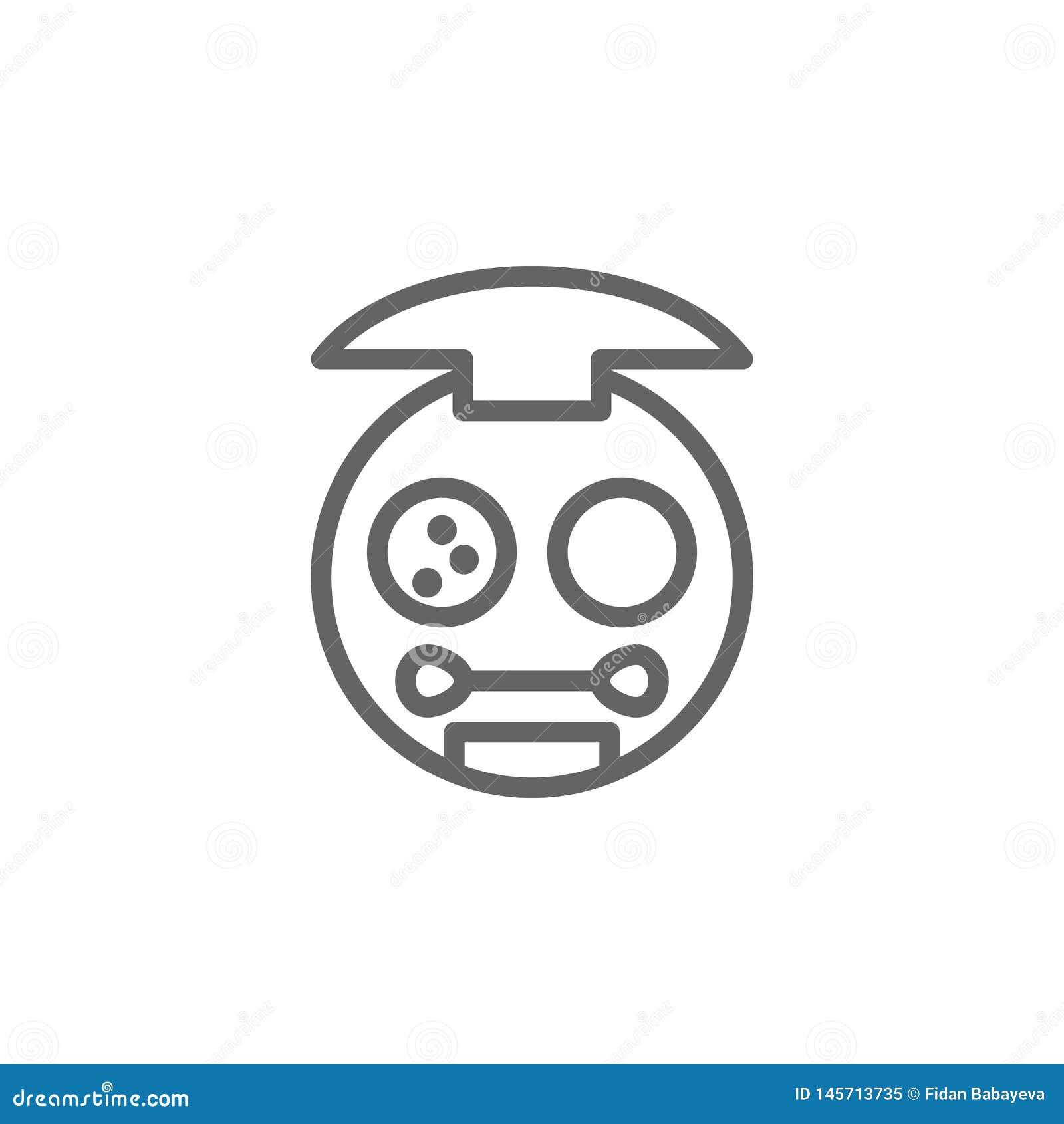 Poco compone el icono del esquema de la caja Elementos icono del ejemplo de la belleza y de los cosm?ticos Las muestras y los s?m