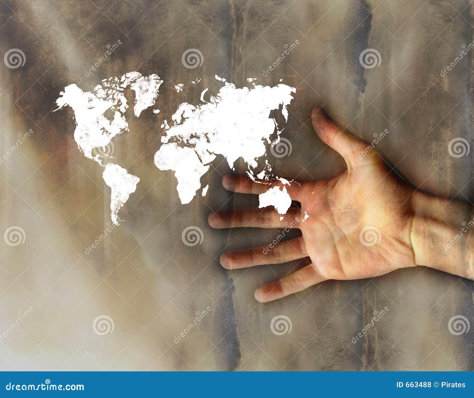 Poco Worldmap en la mano