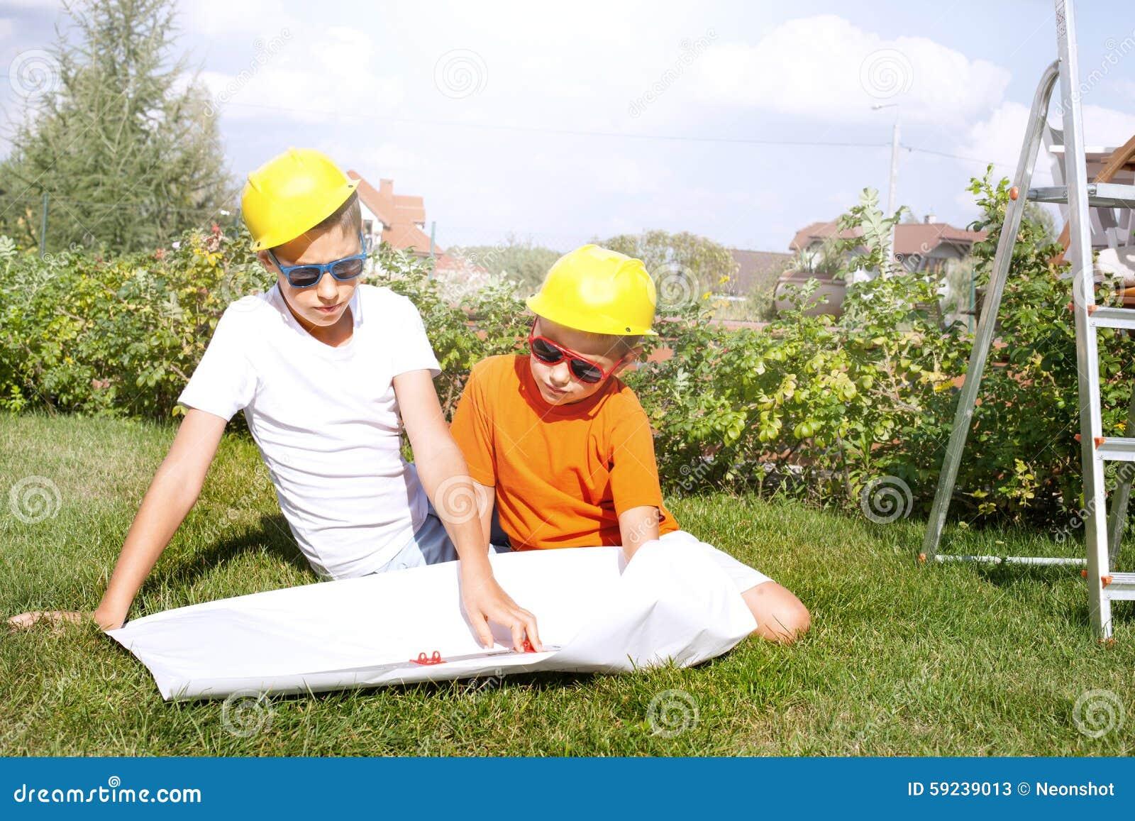 Pocos trabajadores de construcción