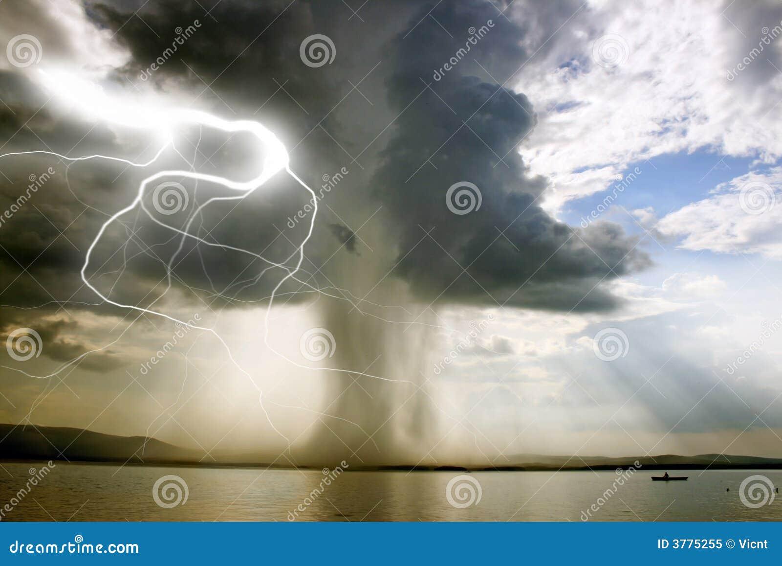 Początek tornado.