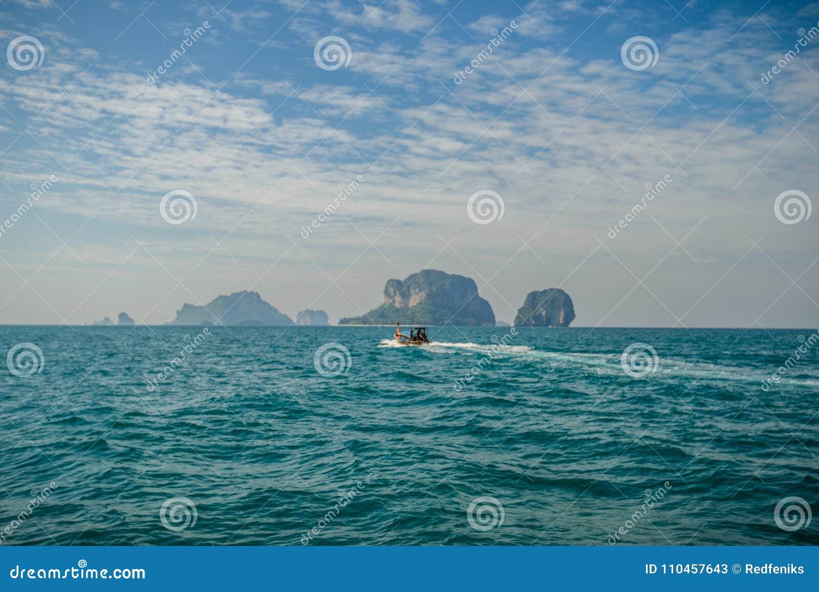 Poda ö och hönaö i Krabi Thailand