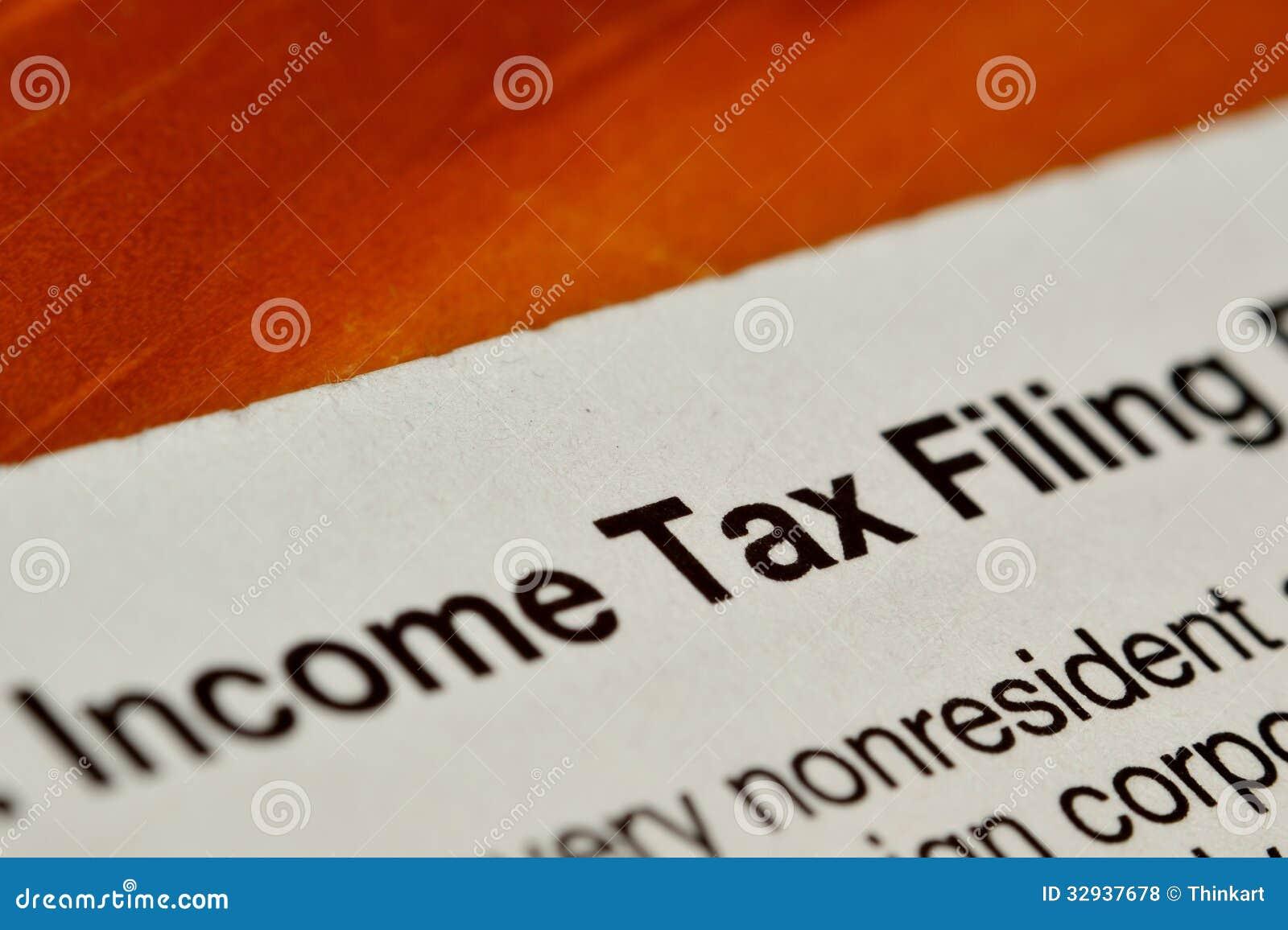 Podatku dochodowego segregowania forma