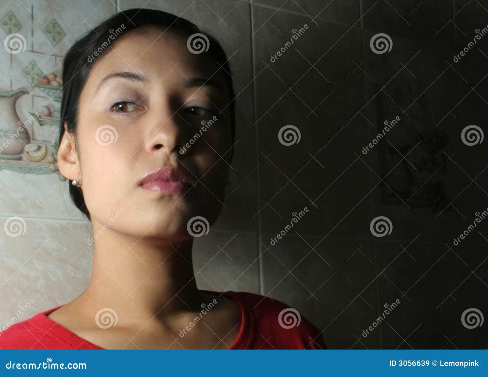 Podejrzana kobieta