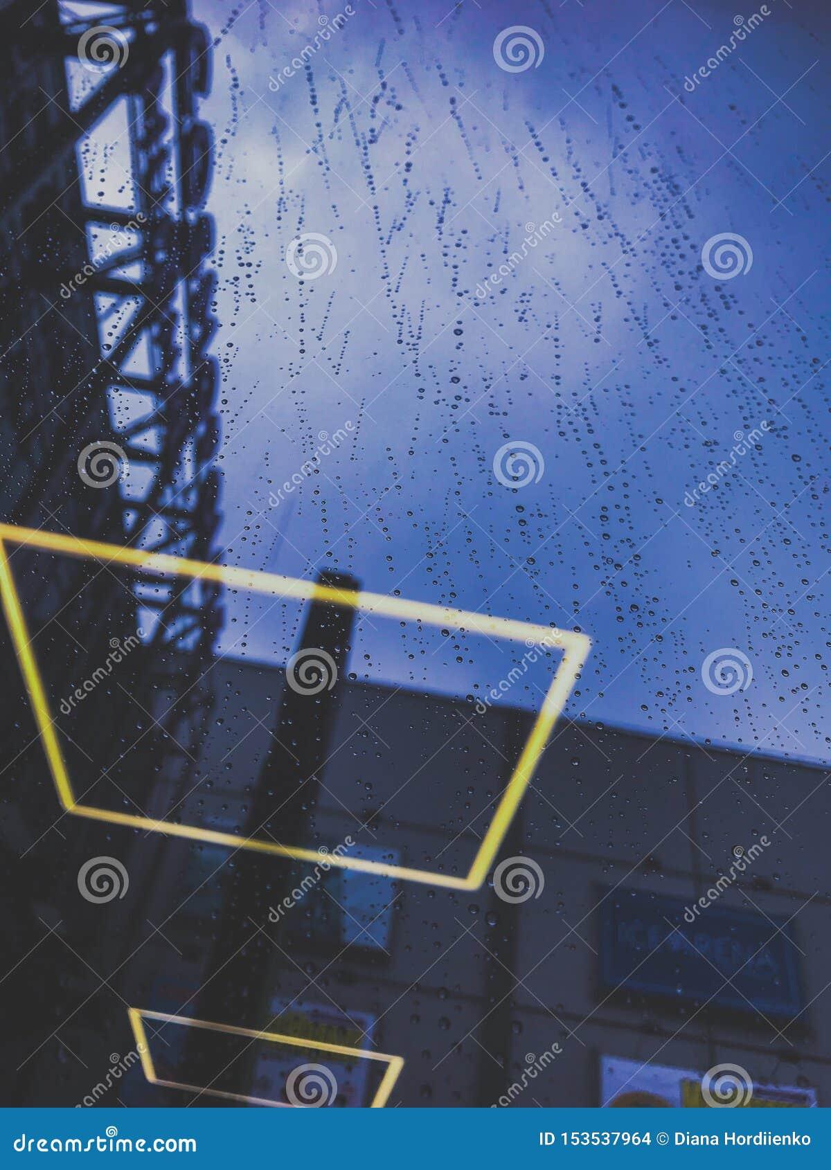 Podeszczowy padać