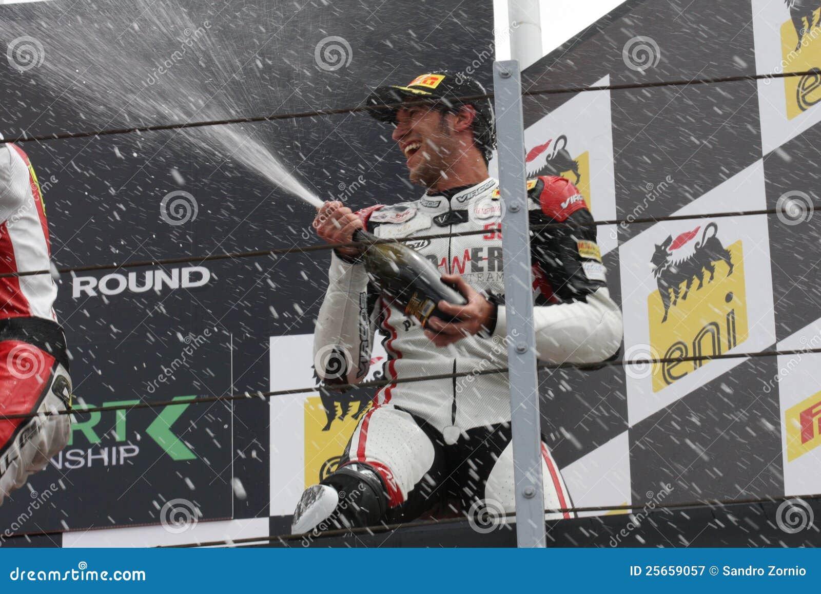Podium Alex Baldolini Suriano Triumph Daytona