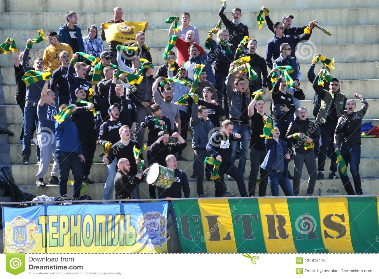 Fan clubs of Ukraine: a selection of sites