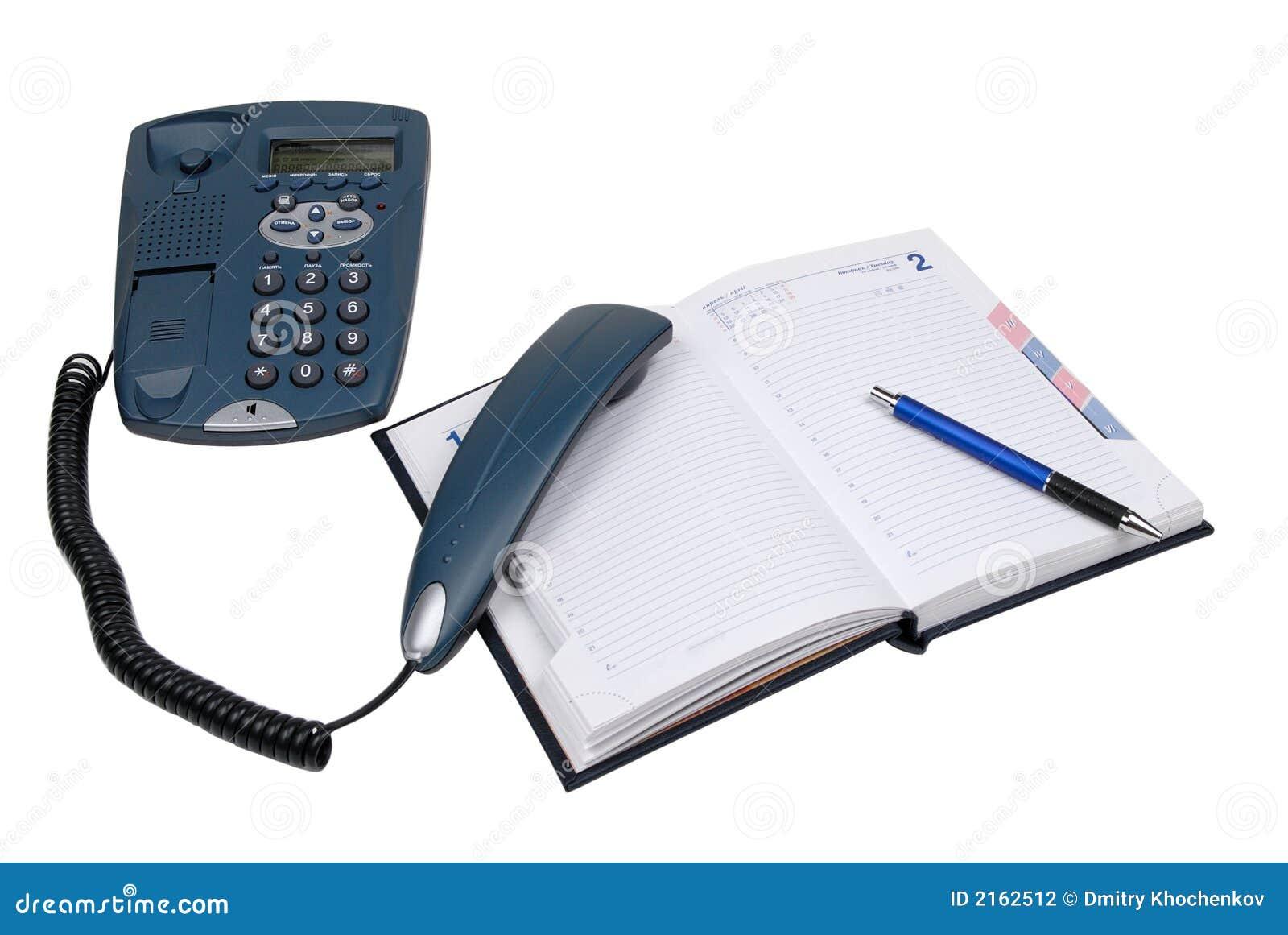 Podnieść rurę pamiętnik telefoniczna