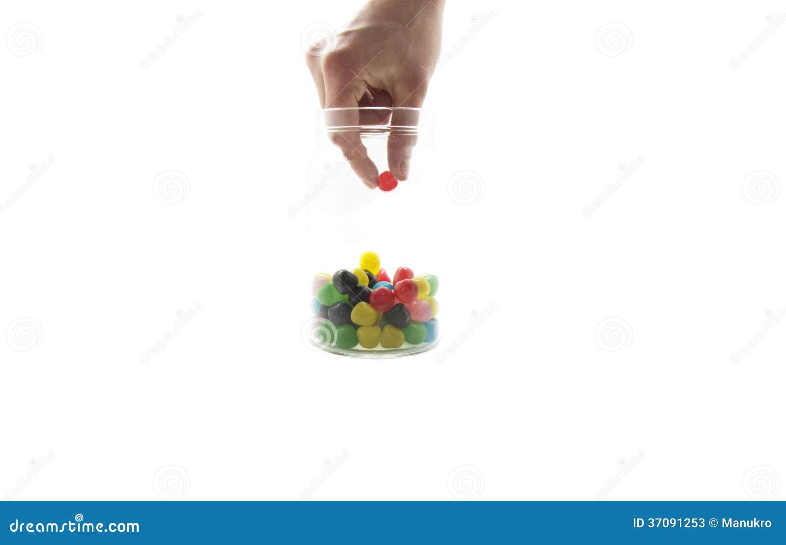 Download Podnosić Up Cukierek W Słoju Obraz Stock - Obraz złożonej z jard, apetyczny: 37091253