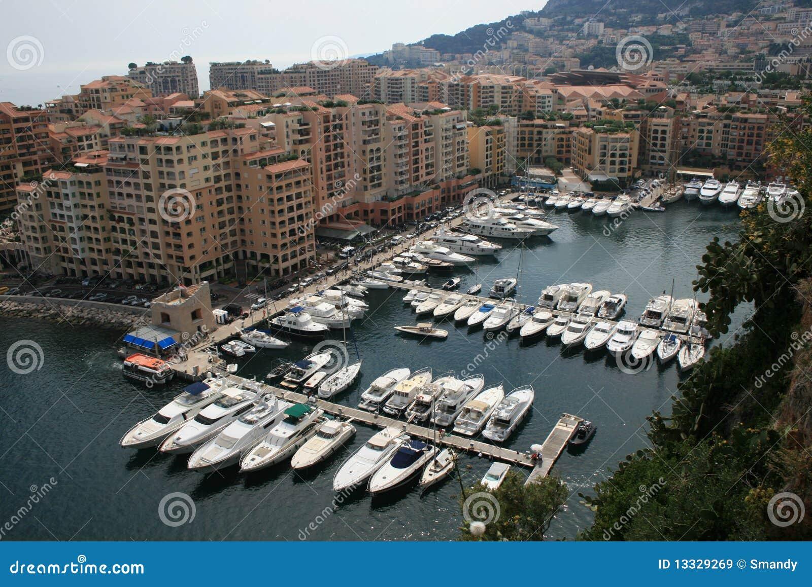 Podpalany Carlo marina Monaco monte widok