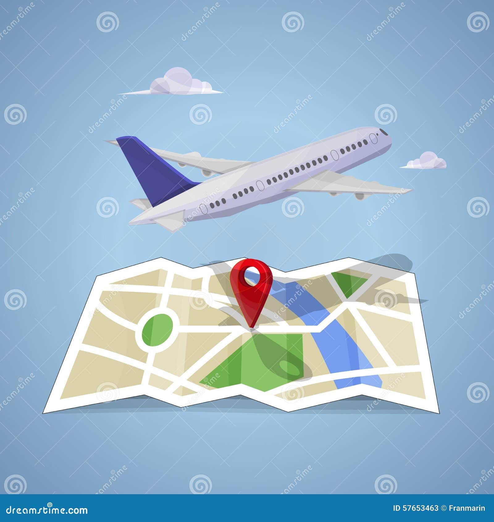 Podróż na mapie