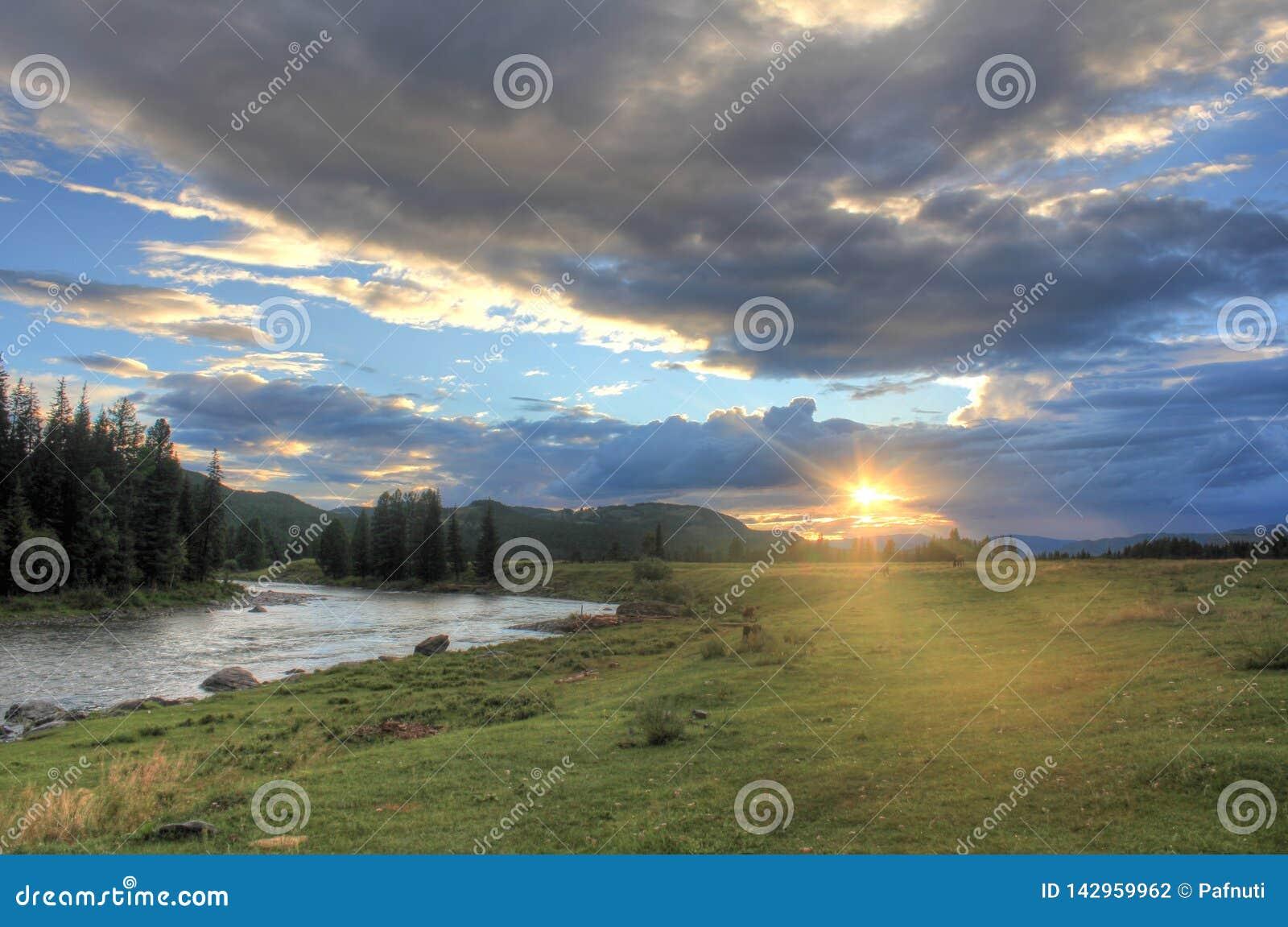 Podróż przez dzikiej natury Altai
