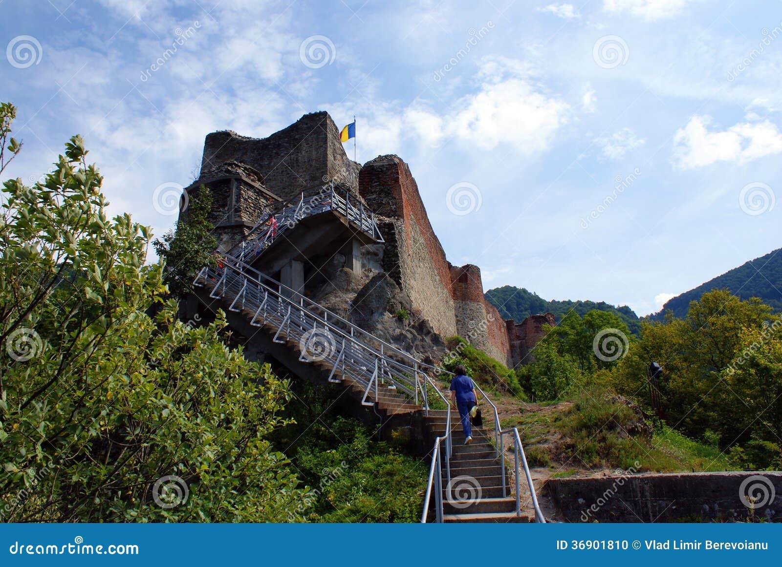 Podróż Rumunia: Ruiny Poienari forteca