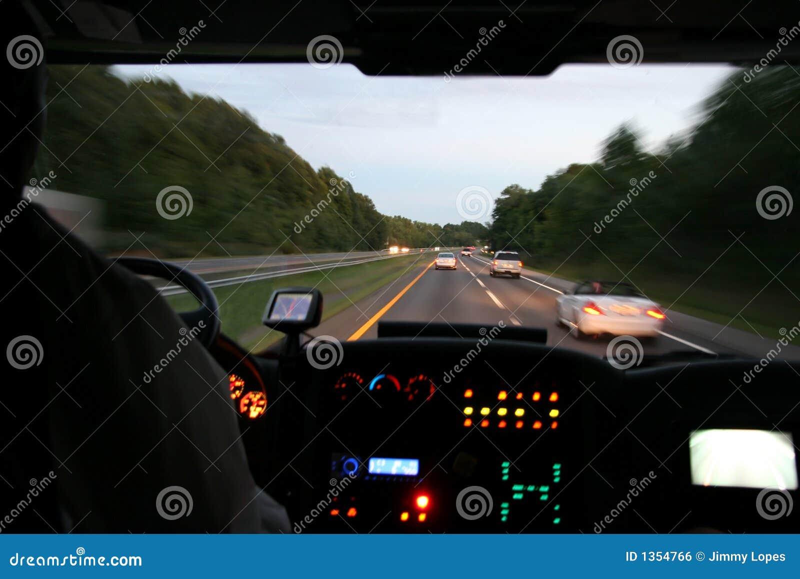 Podróżować autobusem