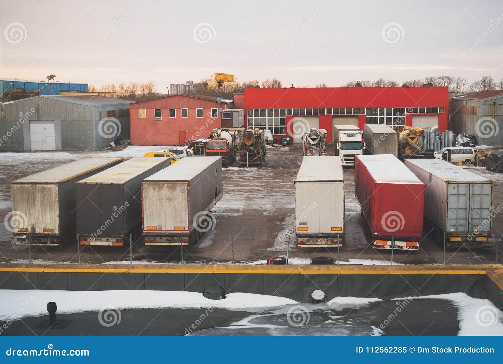Podwórze przemysłowy