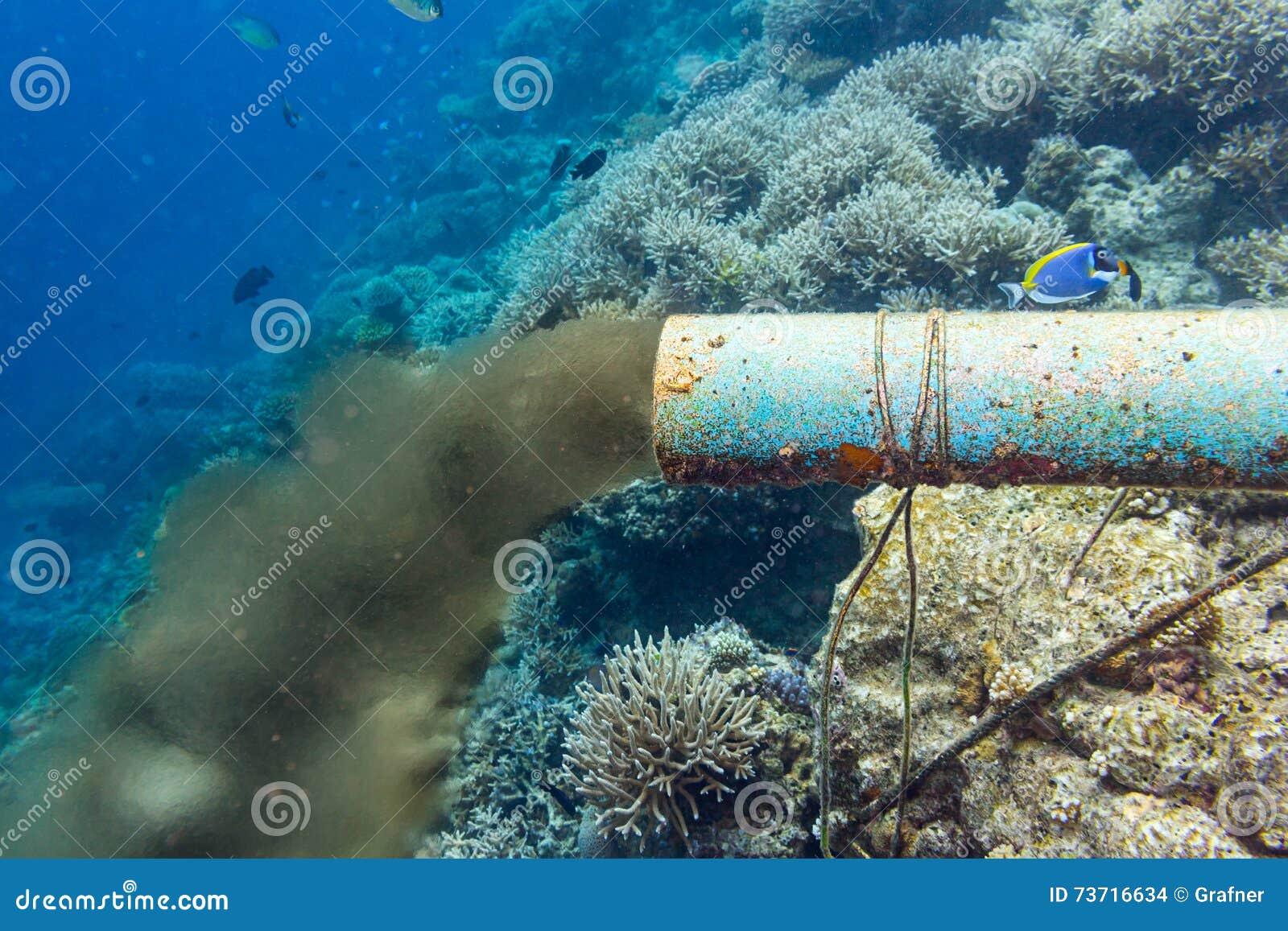 Podwodna ściekowa drymba