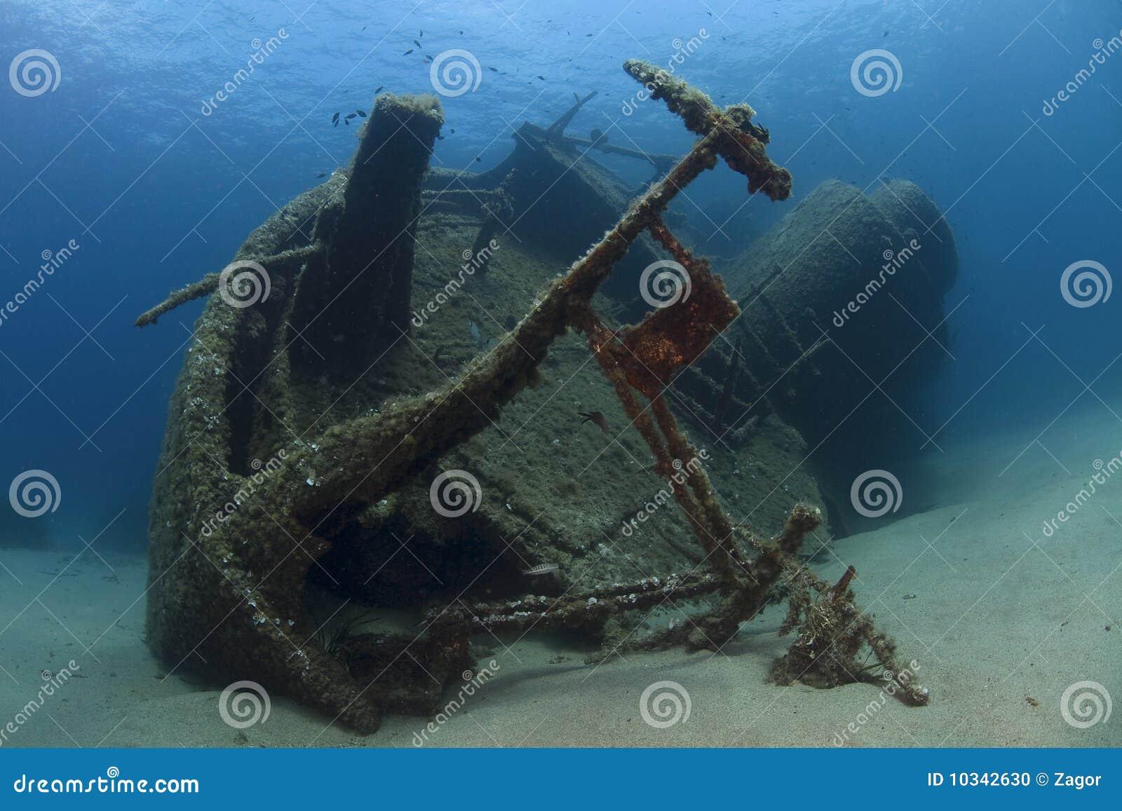 Podwodny wrak