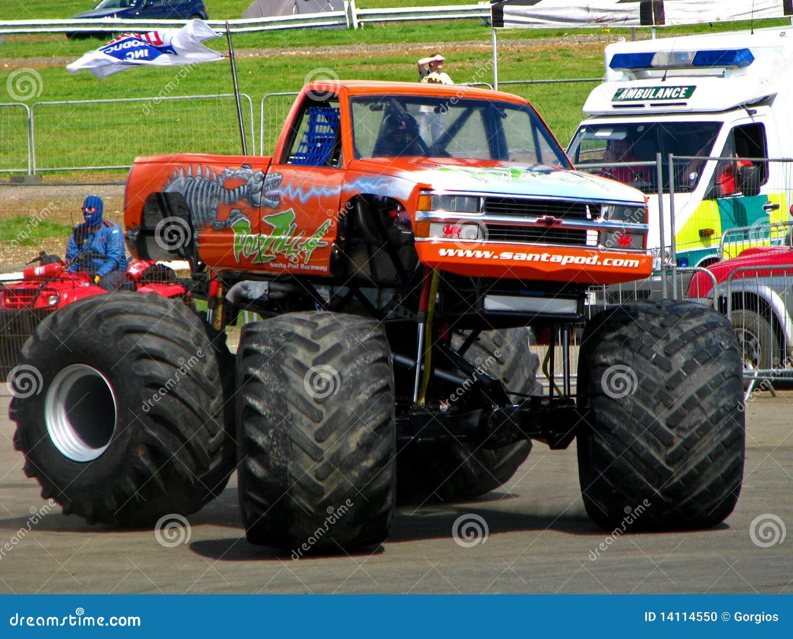 Podzilla monster truck santa pod webcam