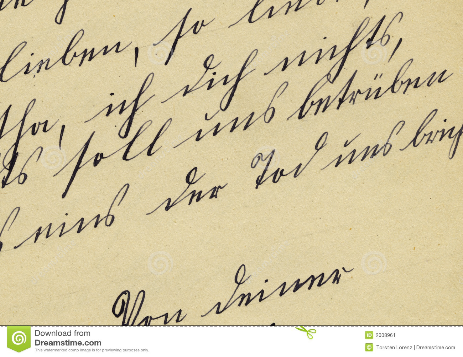 Old fashioned handwriting alphabet 55