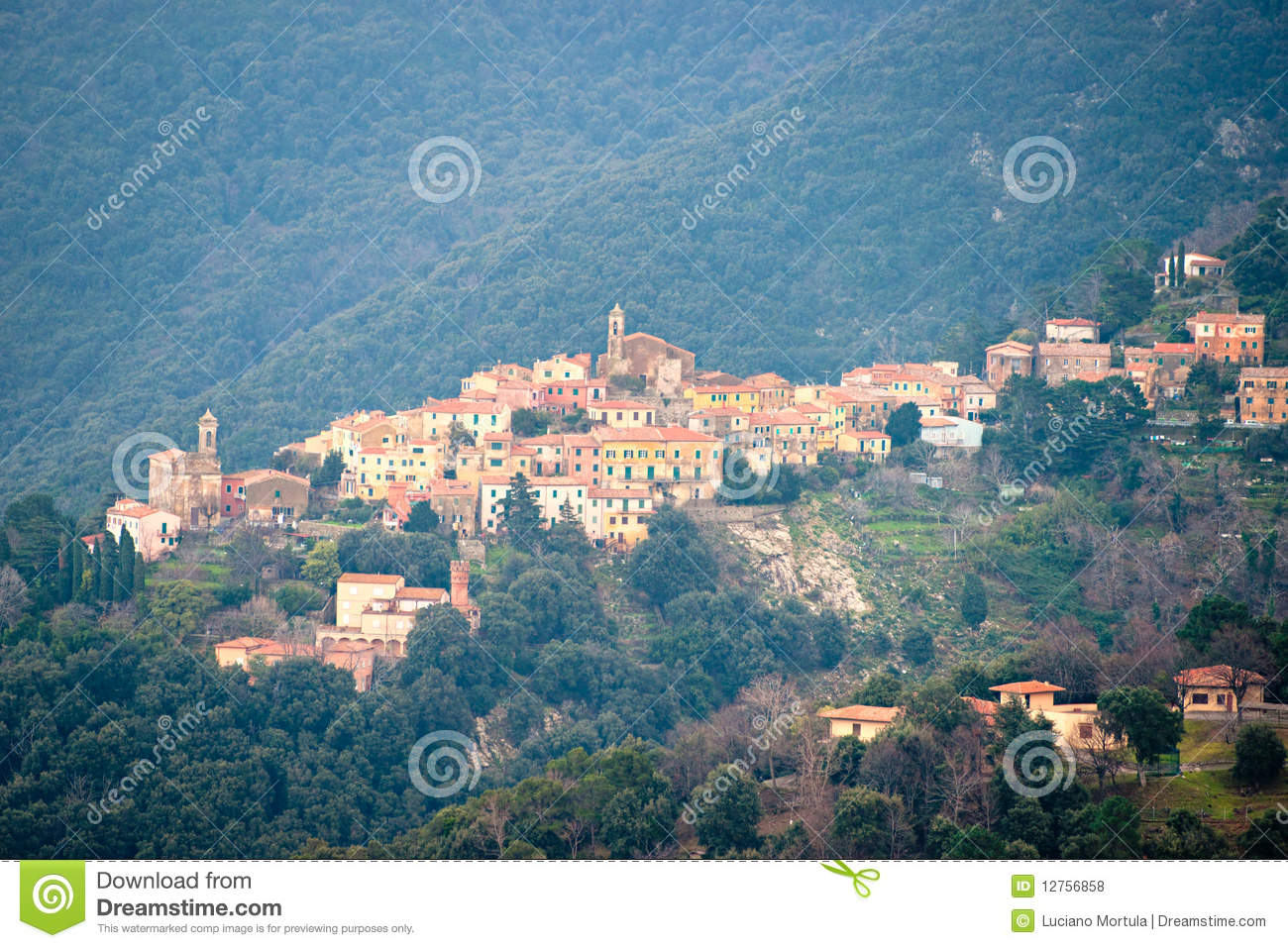 Marciana Italy  city photos : Poggio, Marciana, Elba Island, Italy. Royalty Free Stock Photos ...