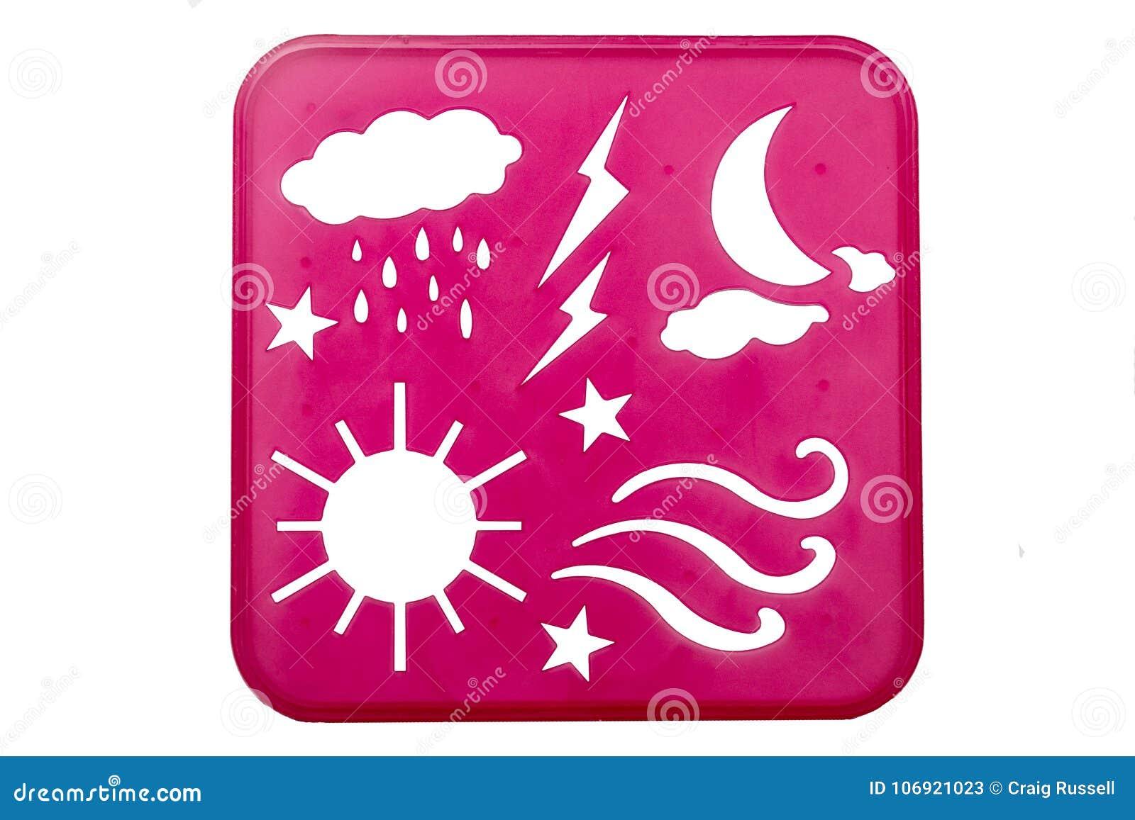 Pogoda matrycuje kształty