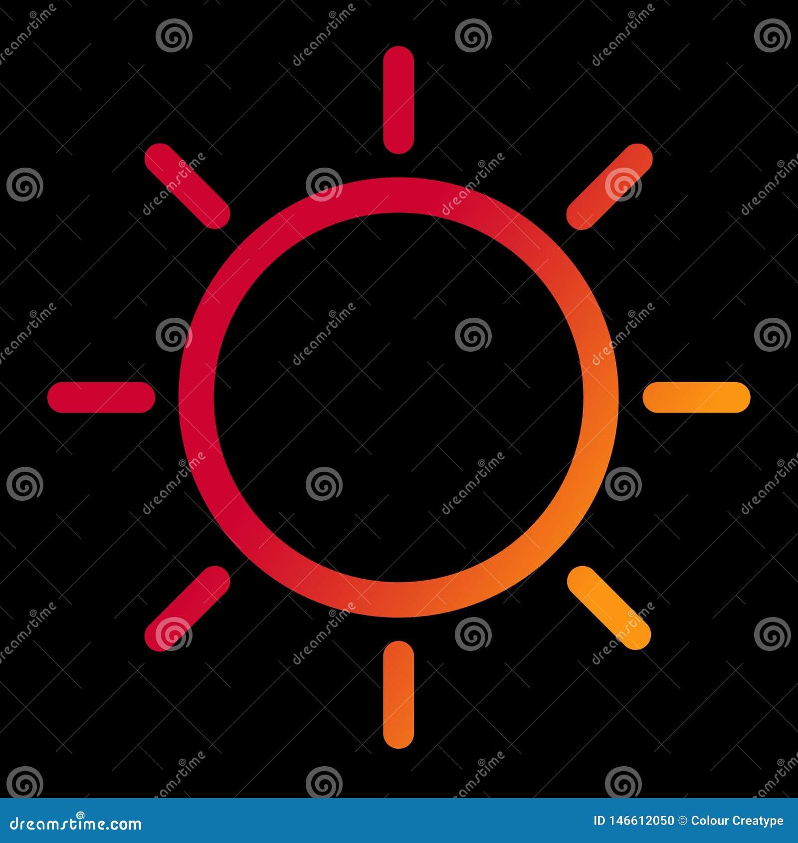 Pogodowy ikona projekt