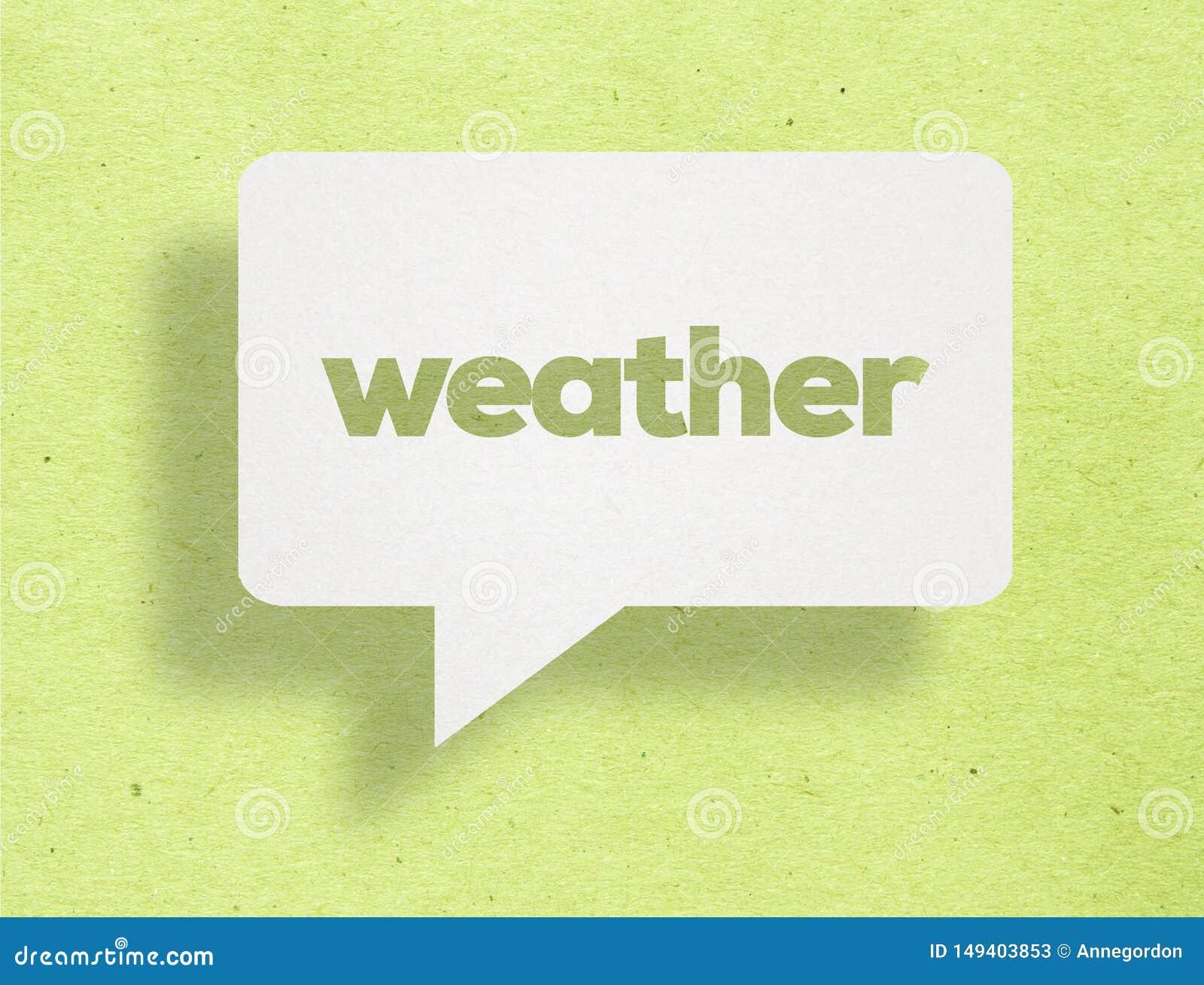 Pogodowy poj?cie