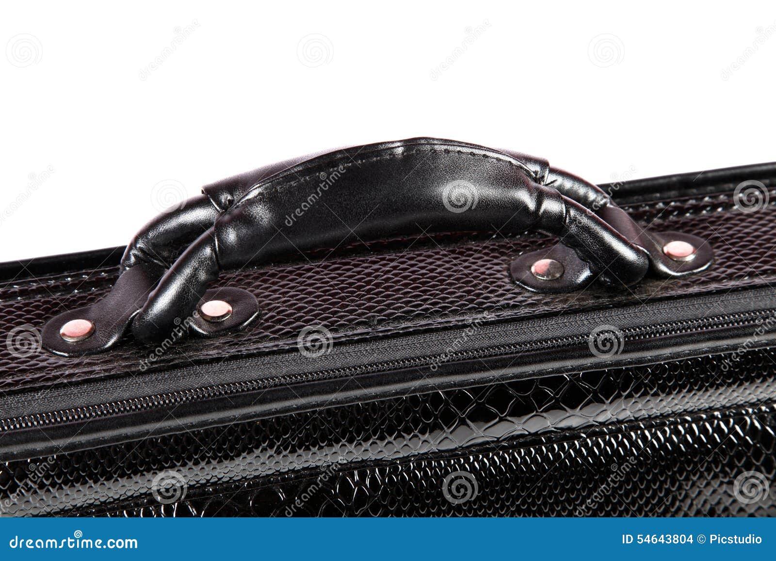 poign e de valise de bureau photo stock image 54643804. Black Bedroom Furniture Sets. Home Design Ideas