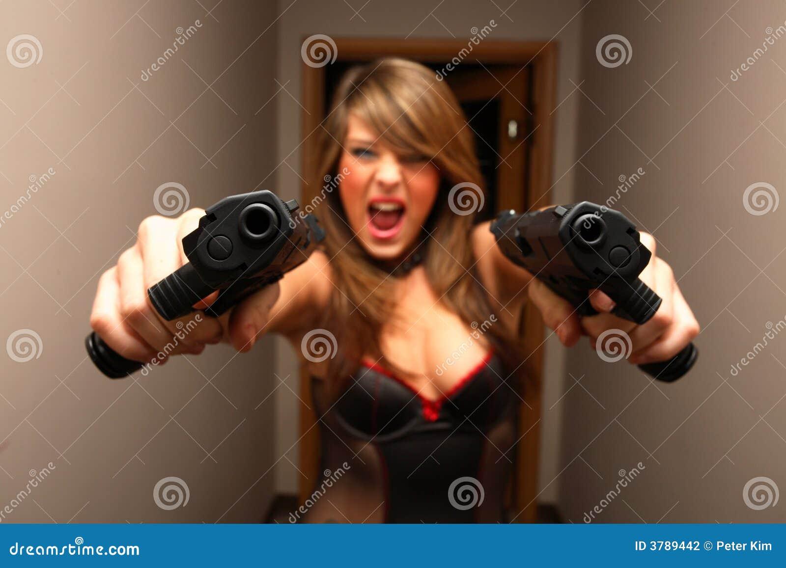 Point blank dual pistols