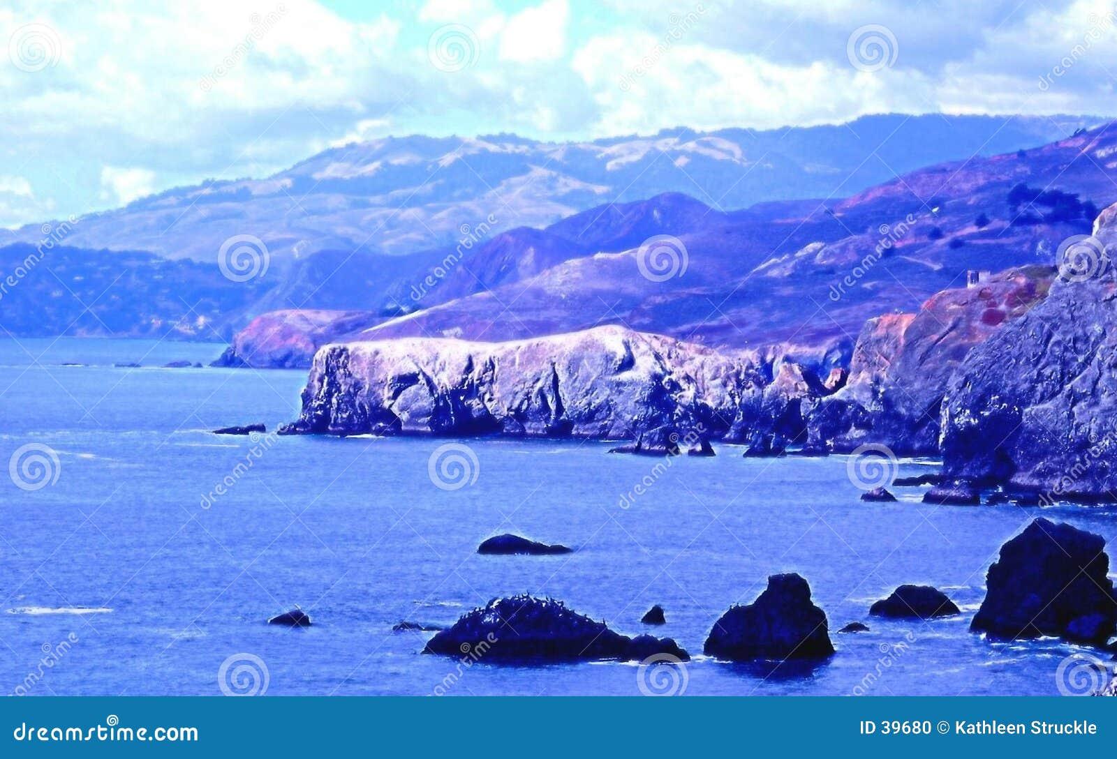 Point Bonita coastline