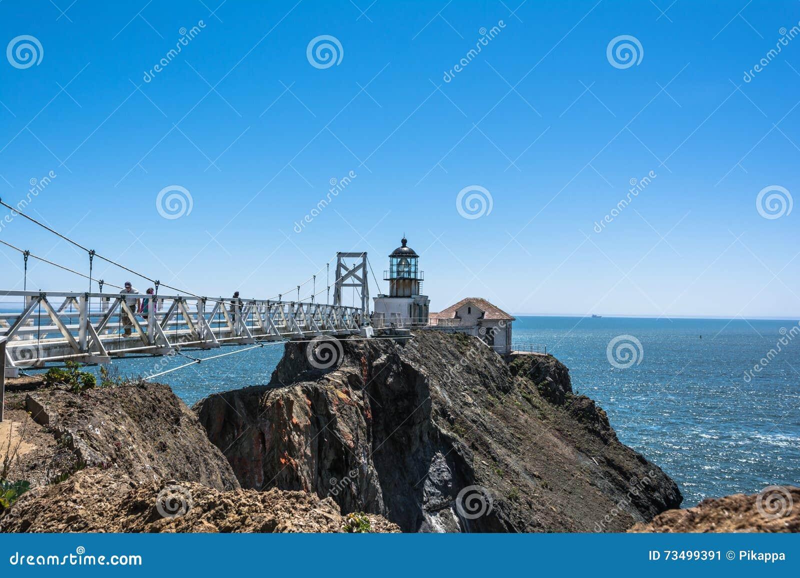 Point Bonita Lighthouse, San Francisco Bay, California