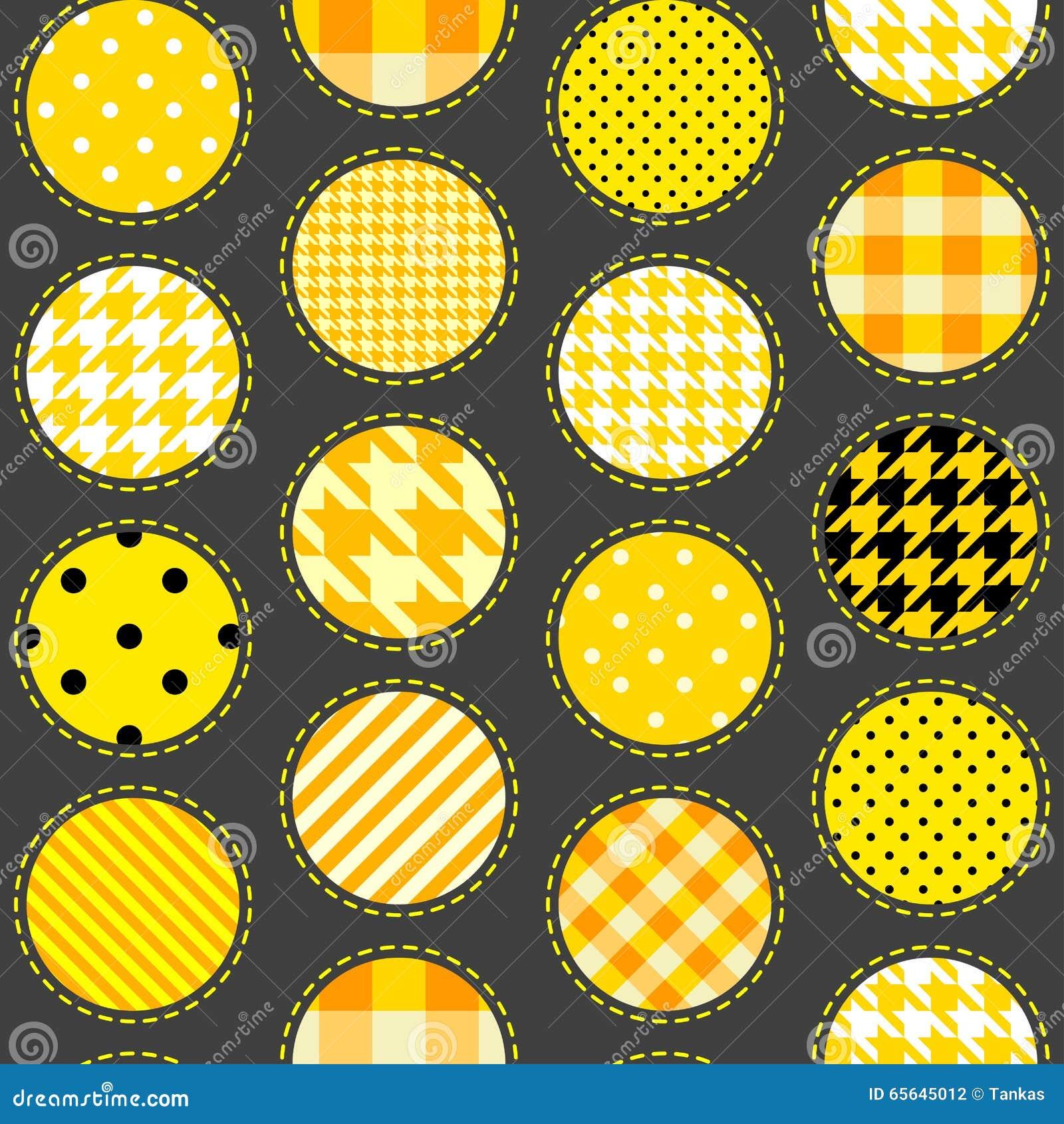 Point de polka de patchwork