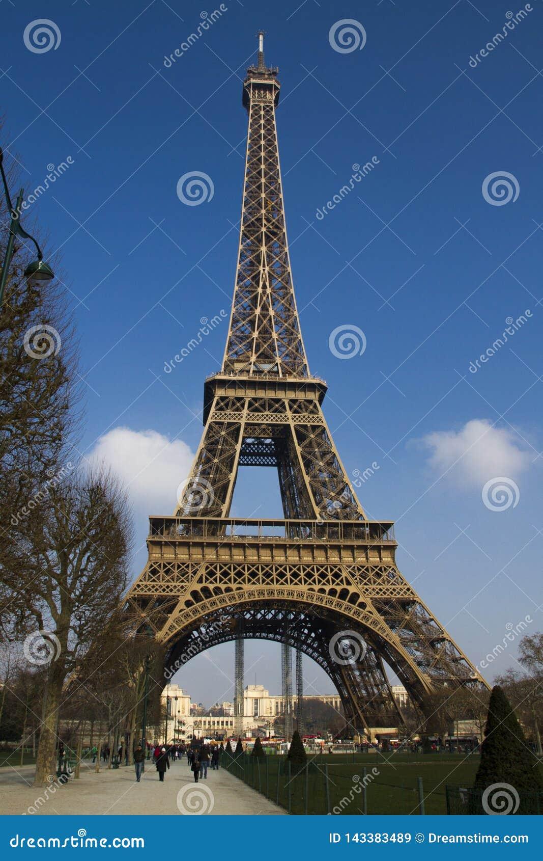 Point de repère historique et de touristes de Paris en France