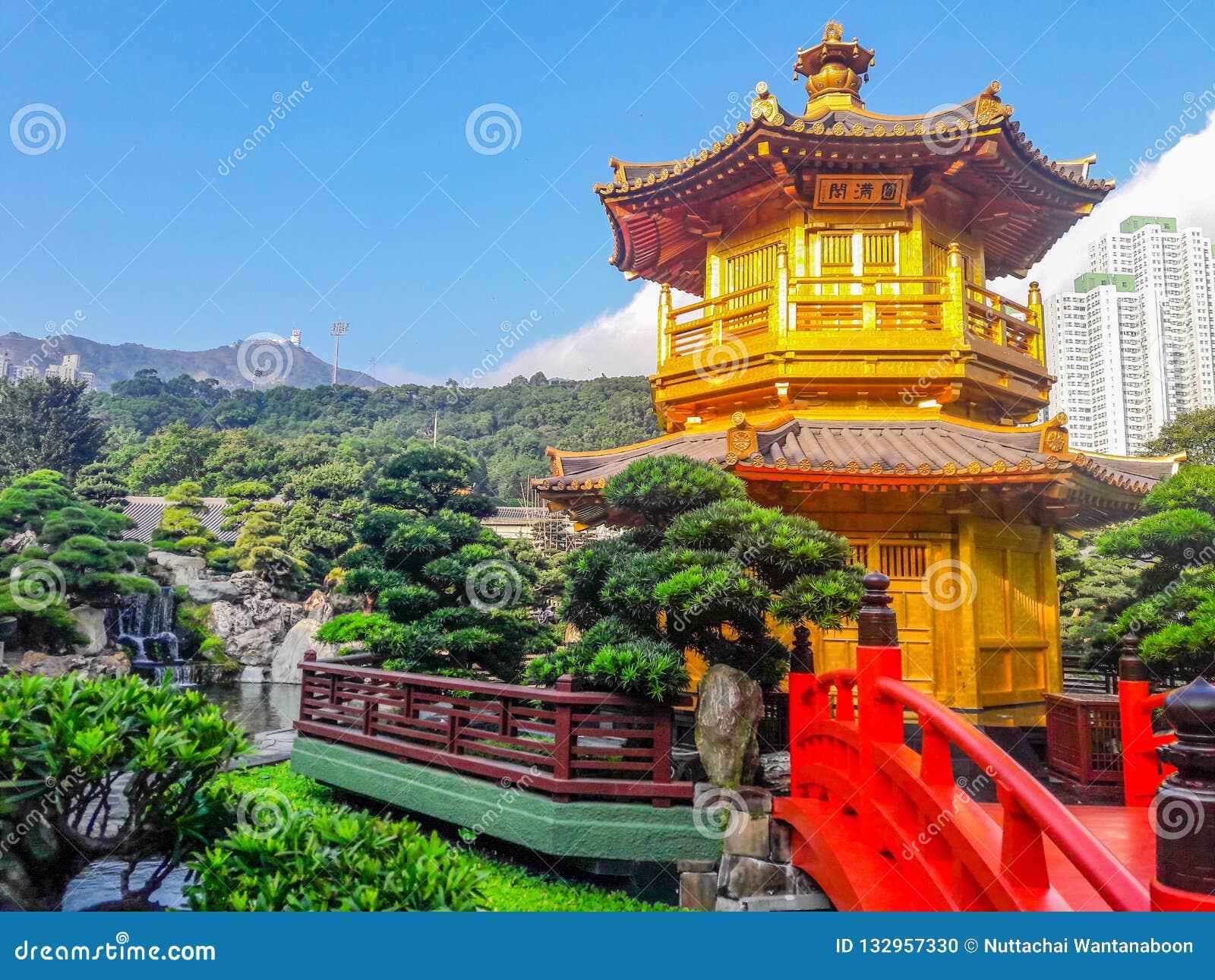 Point de repère de Hong Kong - Nan Lian Garden Chinese Classical Garden