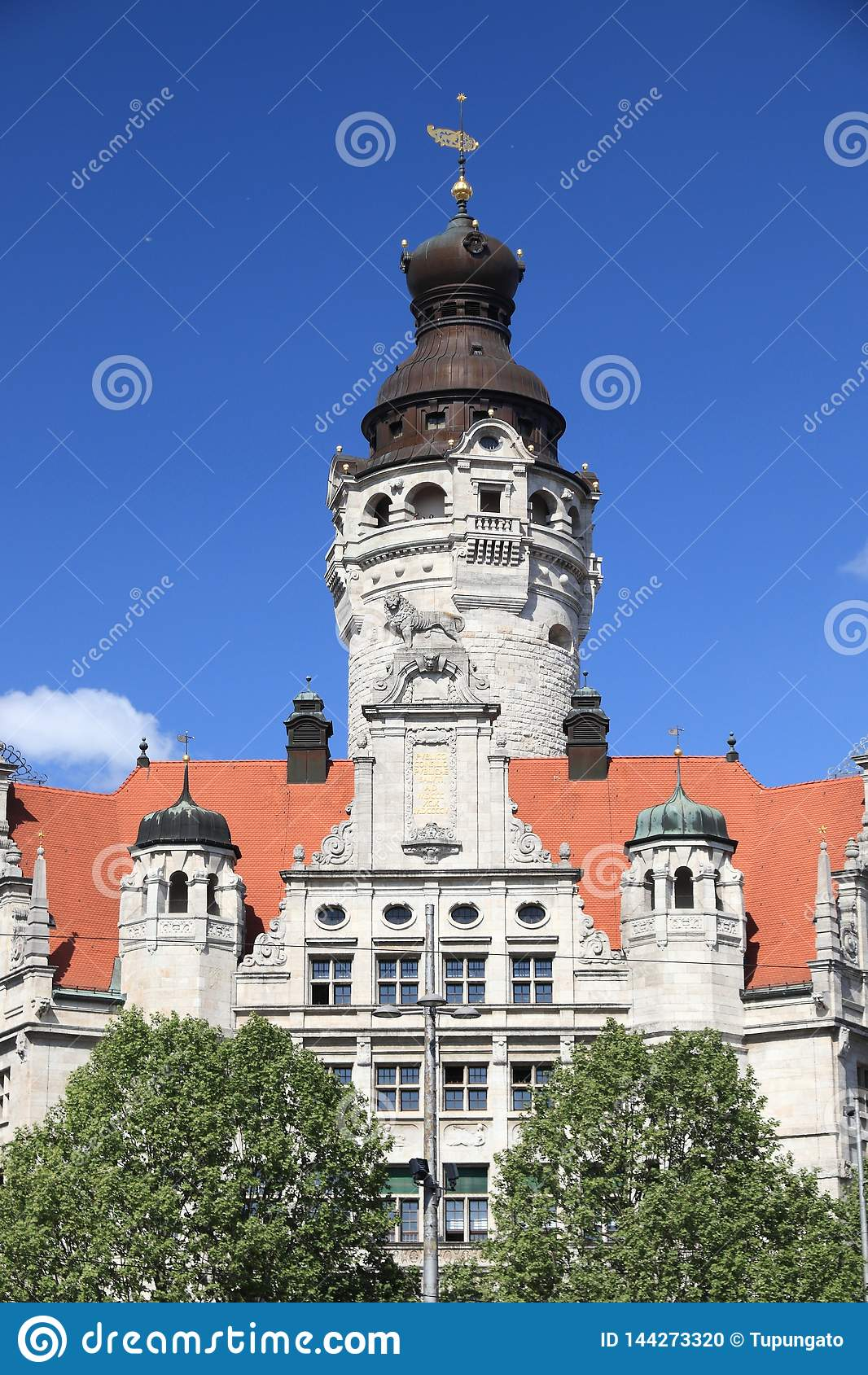 Point de repère de Leipzig, Allemagne