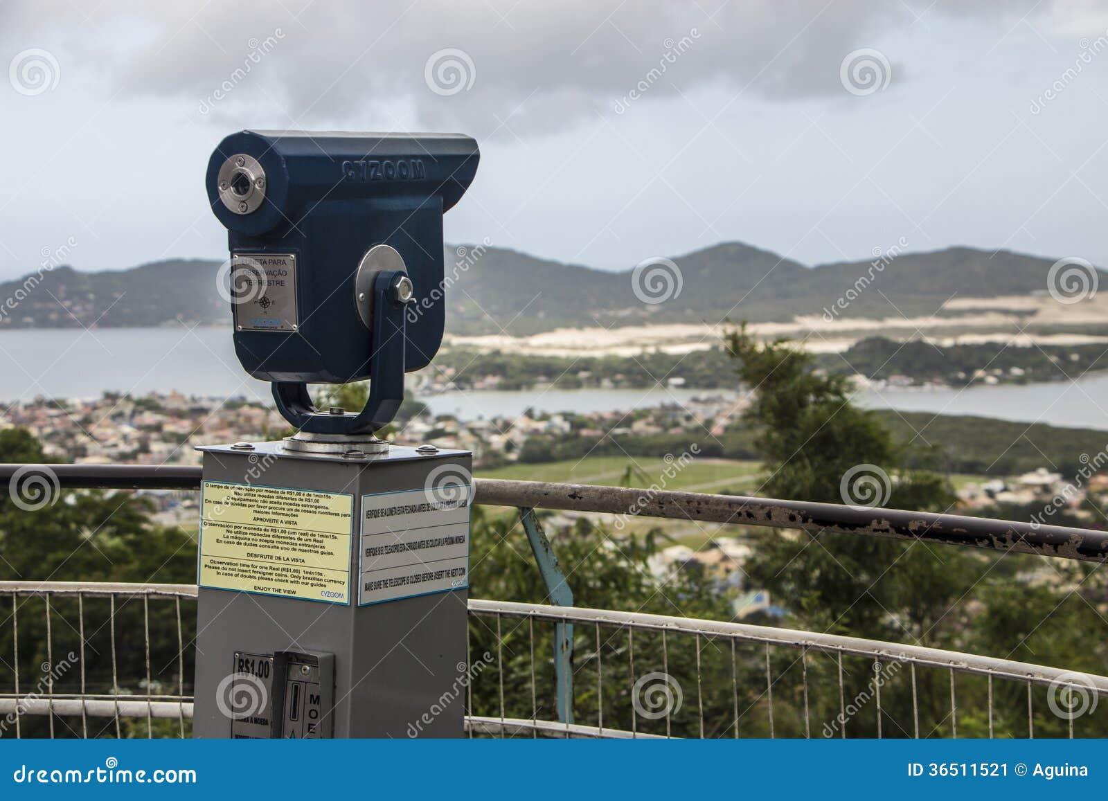 Point de vue du lac Conceição - Florianópolis/SC - le Brésil